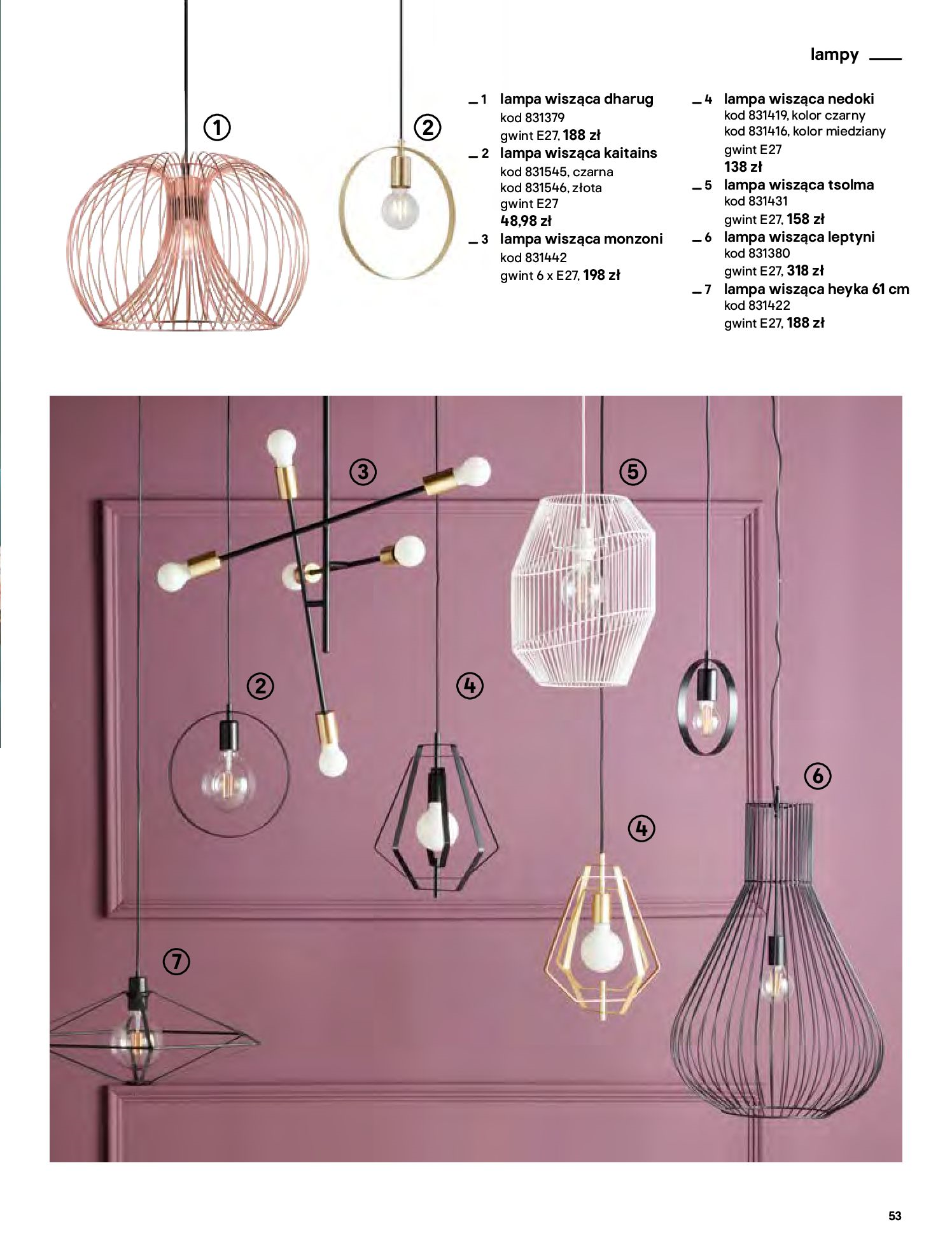 Gazetka Castorama - Katalog Dekoracje-22.10.2020-31.12.2020-page-53