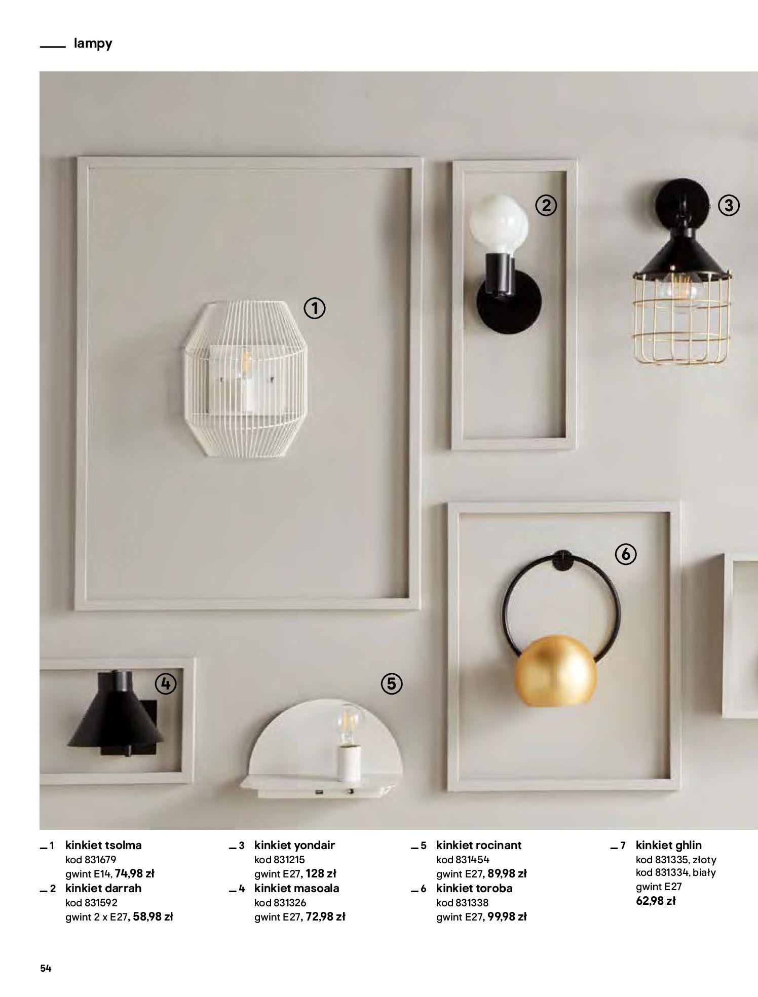 Gazetka Castorama - Katalog Dekoracje-22.10.2020-31.12.2020-page-54