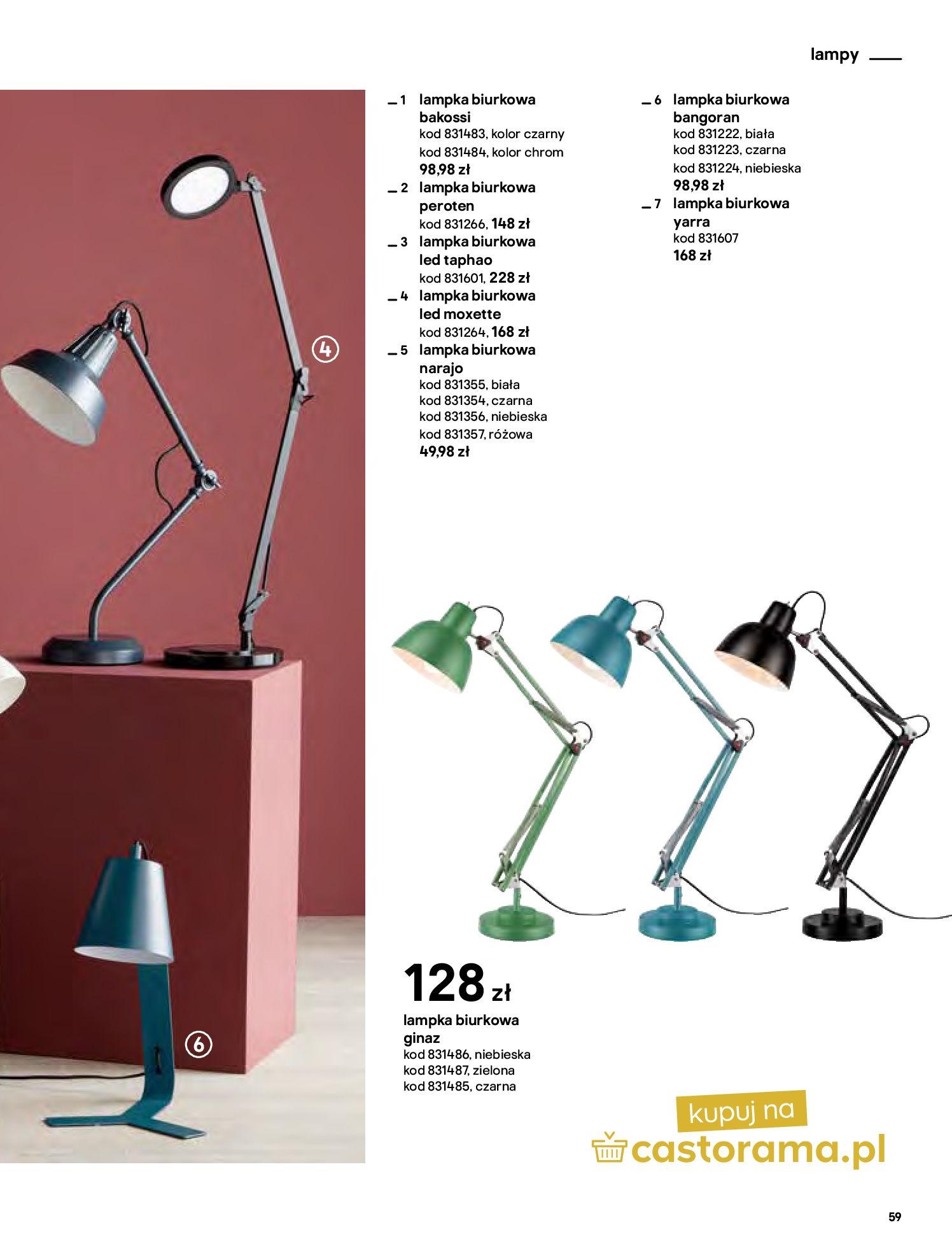 Gazetka Castorama - Katalog Dekoracje-22.10.2020-31.12.2020-page-59