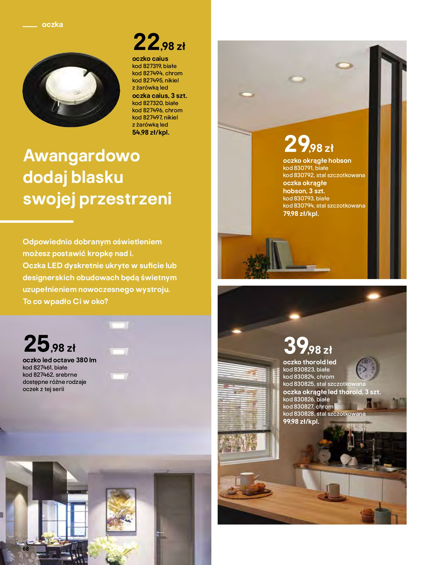 Gazetka Castorama - Katalog Dekoracje-22.10.2020-31.12.2020-page-68
