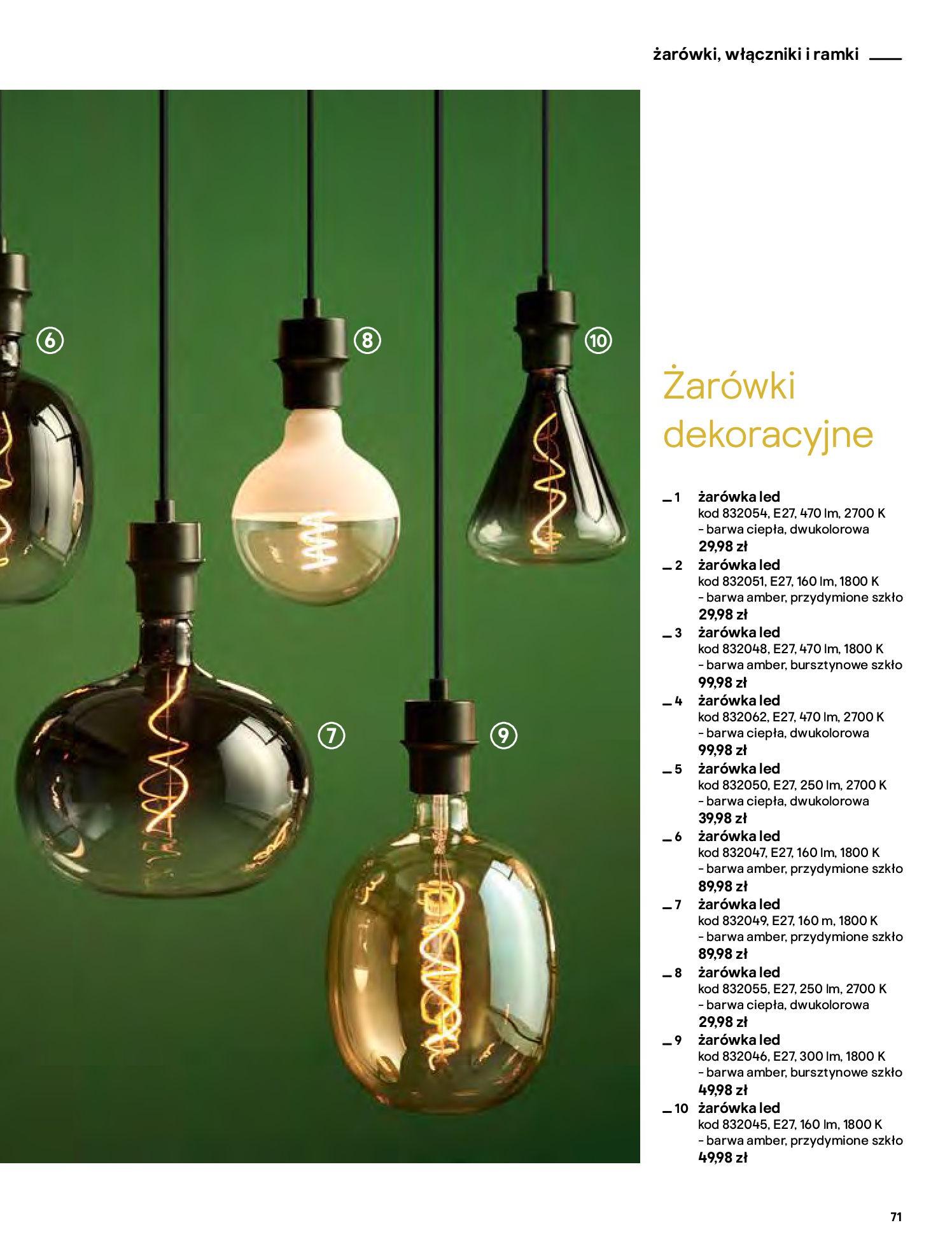 Gazetka Castorama - Katalog Dekoracje-22.10.2020-31.12.2020-page-71