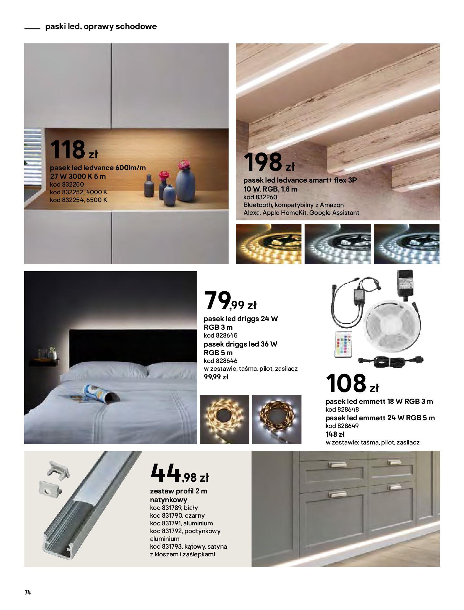 Gazetka Castorama - Katalog Dekoracje-22.10.2020-31.12.2020-page-74