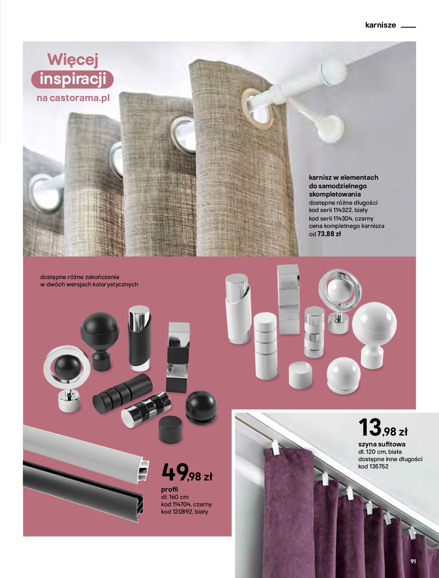 Gazetka Castorama - Katalog Dekoracje-22.10.2020-31.12.2020-page-91