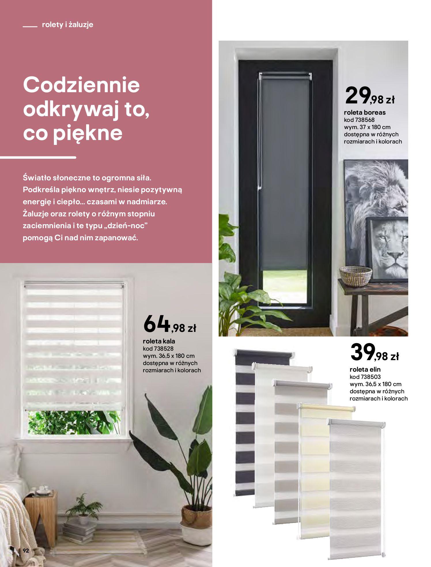 Gazetka Castorama - Katalog Dekoracje-22.10.2020-31.12.2020-page-92