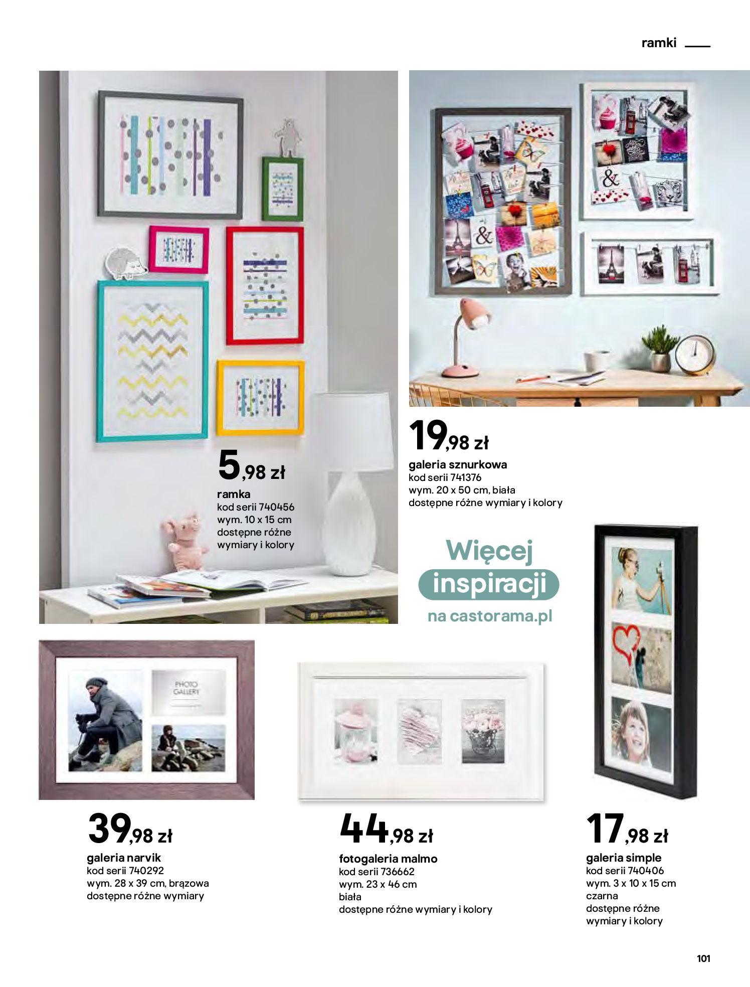Gazetka Castorama - Katalog Dekoracje-22.10.2020-31.12.2020-page-101