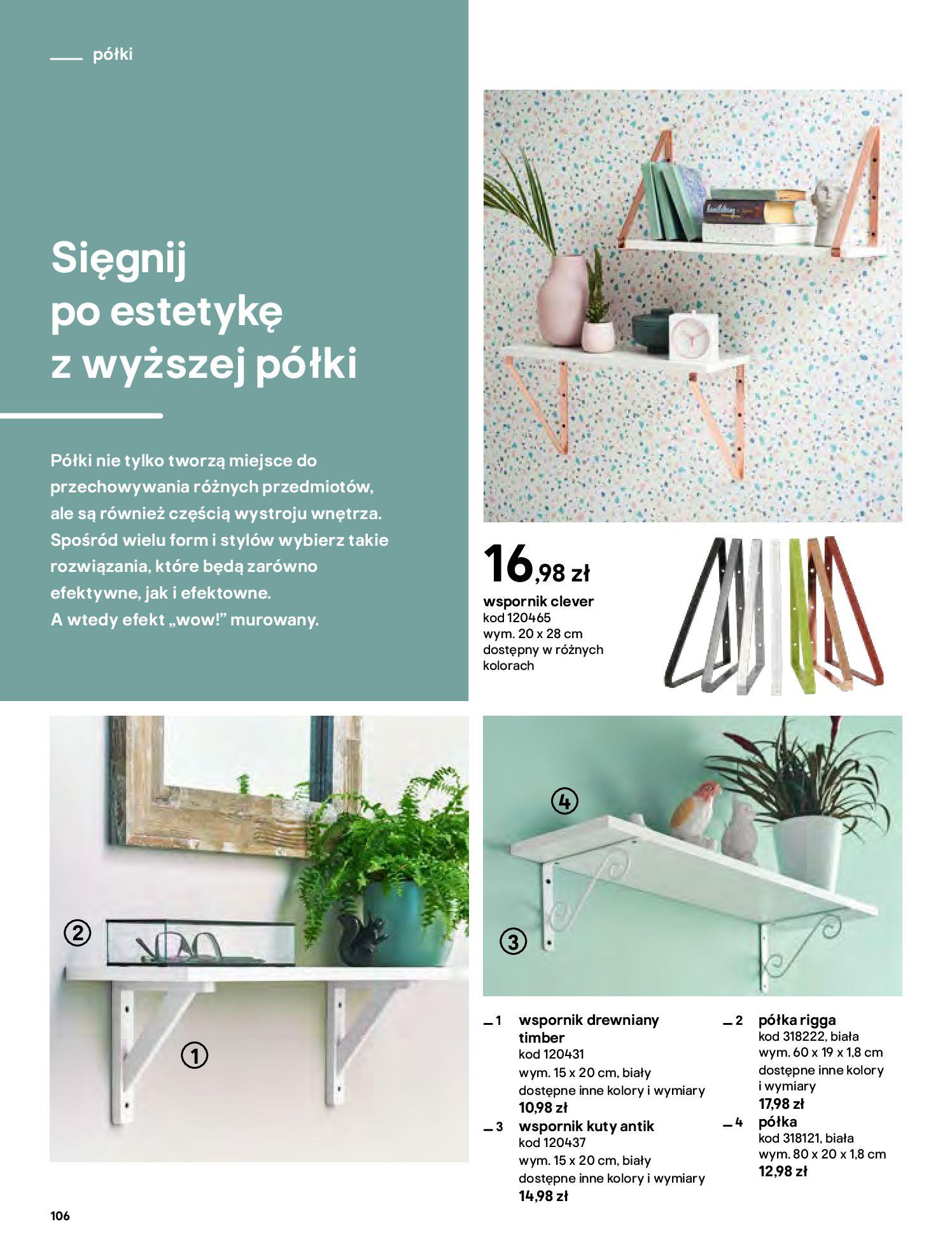 Gazetka Castorama - Katalog Dekoracje-22.10.2020-31.12.2020-page-106