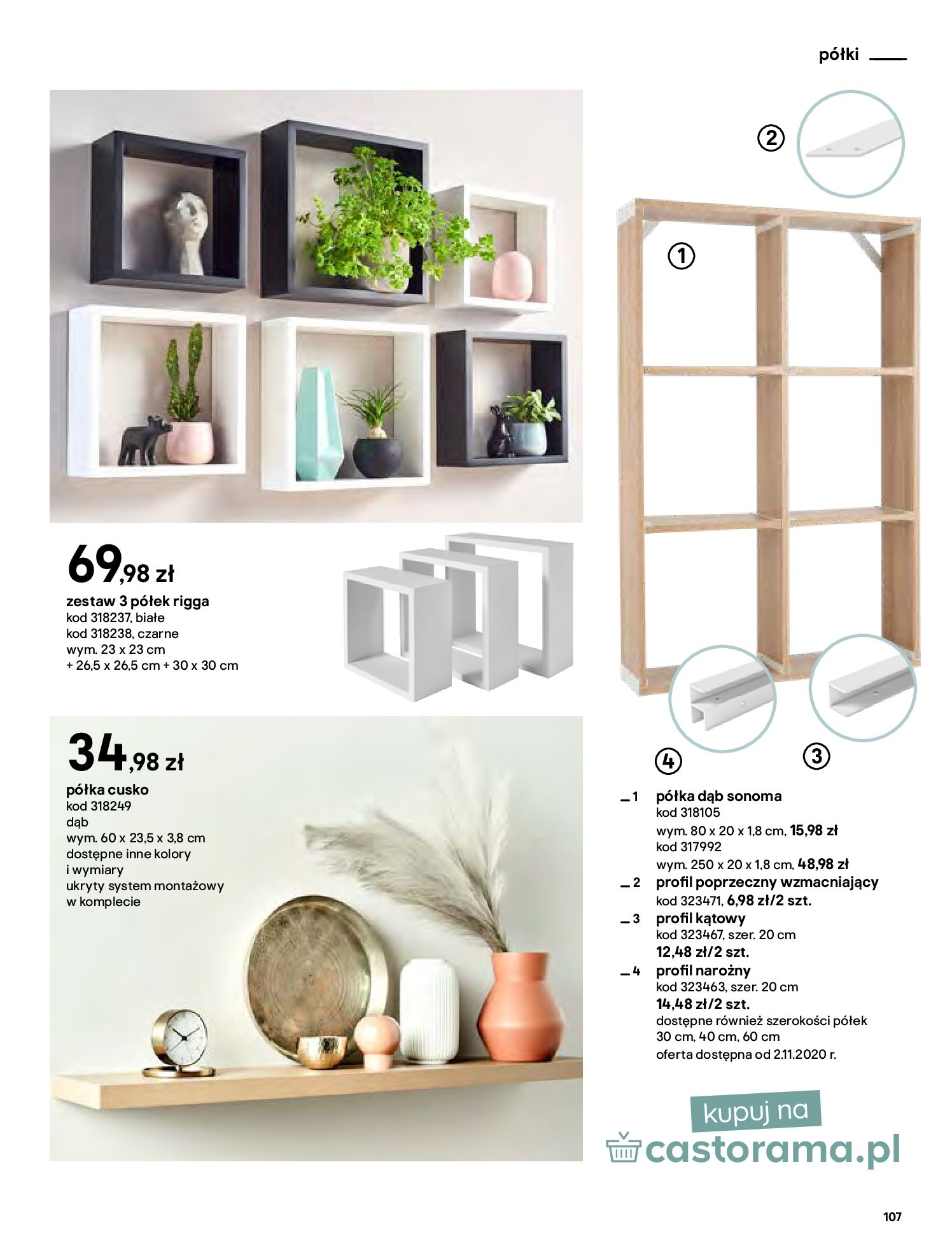 Gazetka Castorama - Katalog Dekoracje-22.10.2020-31.12.2020-page-107