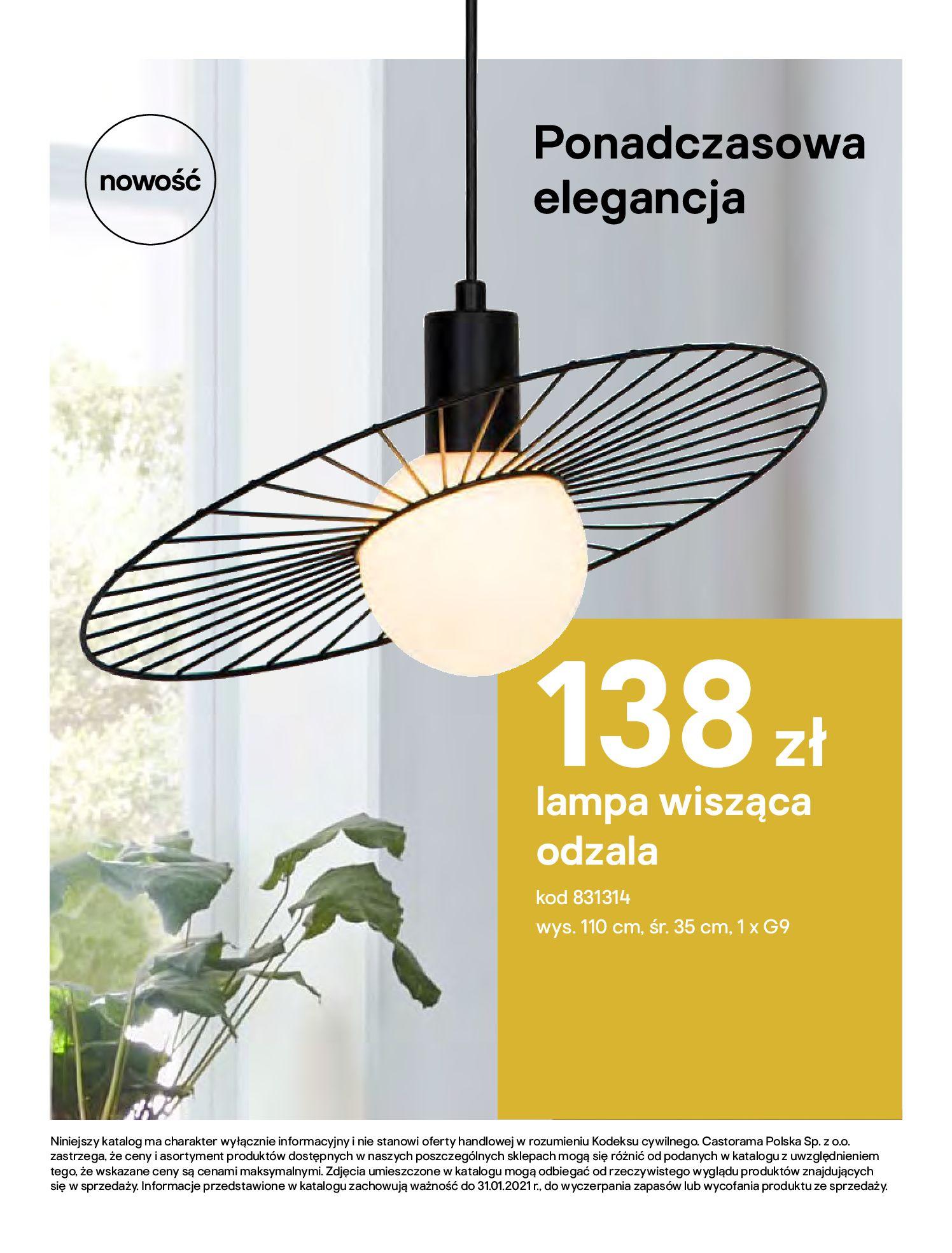 Gazetka Castorama - Katalog Dekoracje-22.10.2020-31.12.2020-page-112