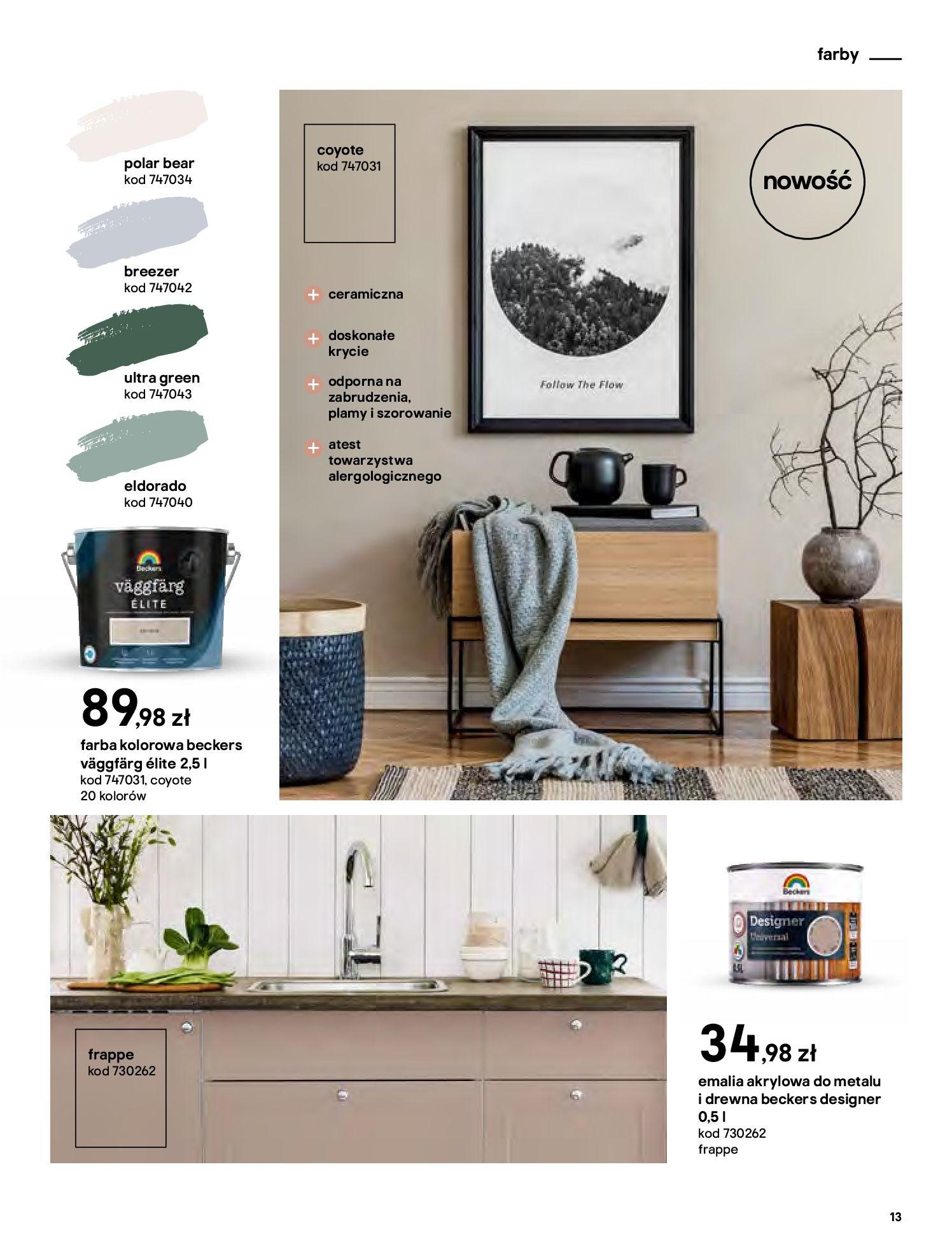 Gazetka Castorama - Katalog Dekoracje-22.10.2020-31.12.2020-page-13