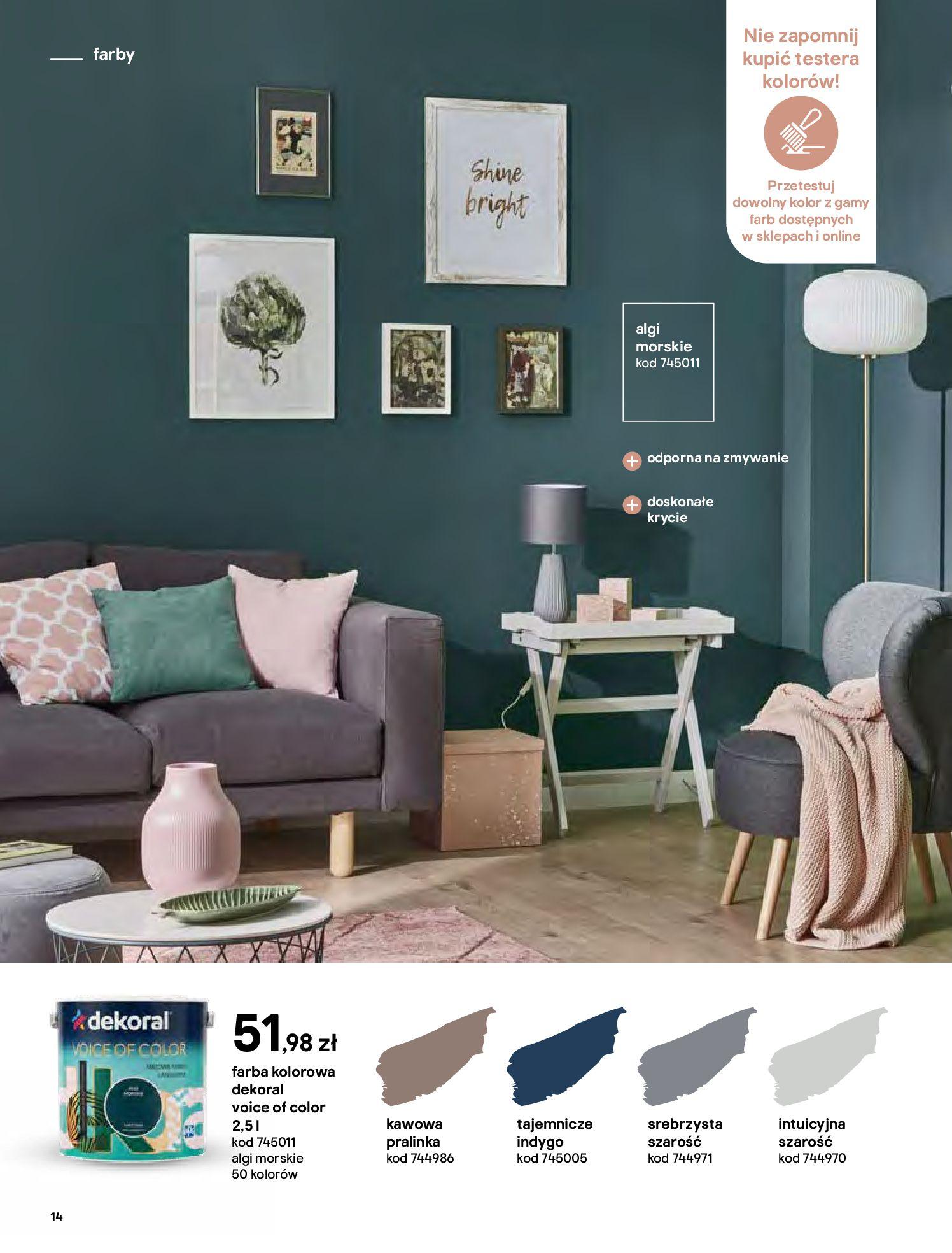 Gazetka Castorama - Katalog Dekoracje-22.10.2020-31.12.2020-page-14
