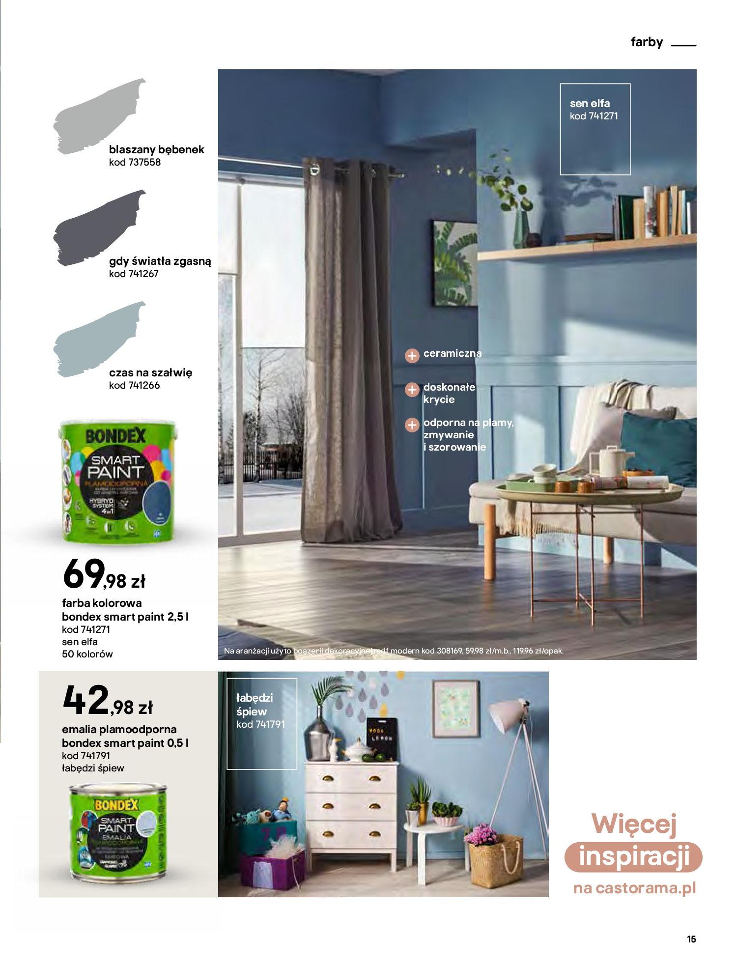 Gazetka Castorama - Katalog Dekoracje-22.10.2020-31.12.2020-page-15