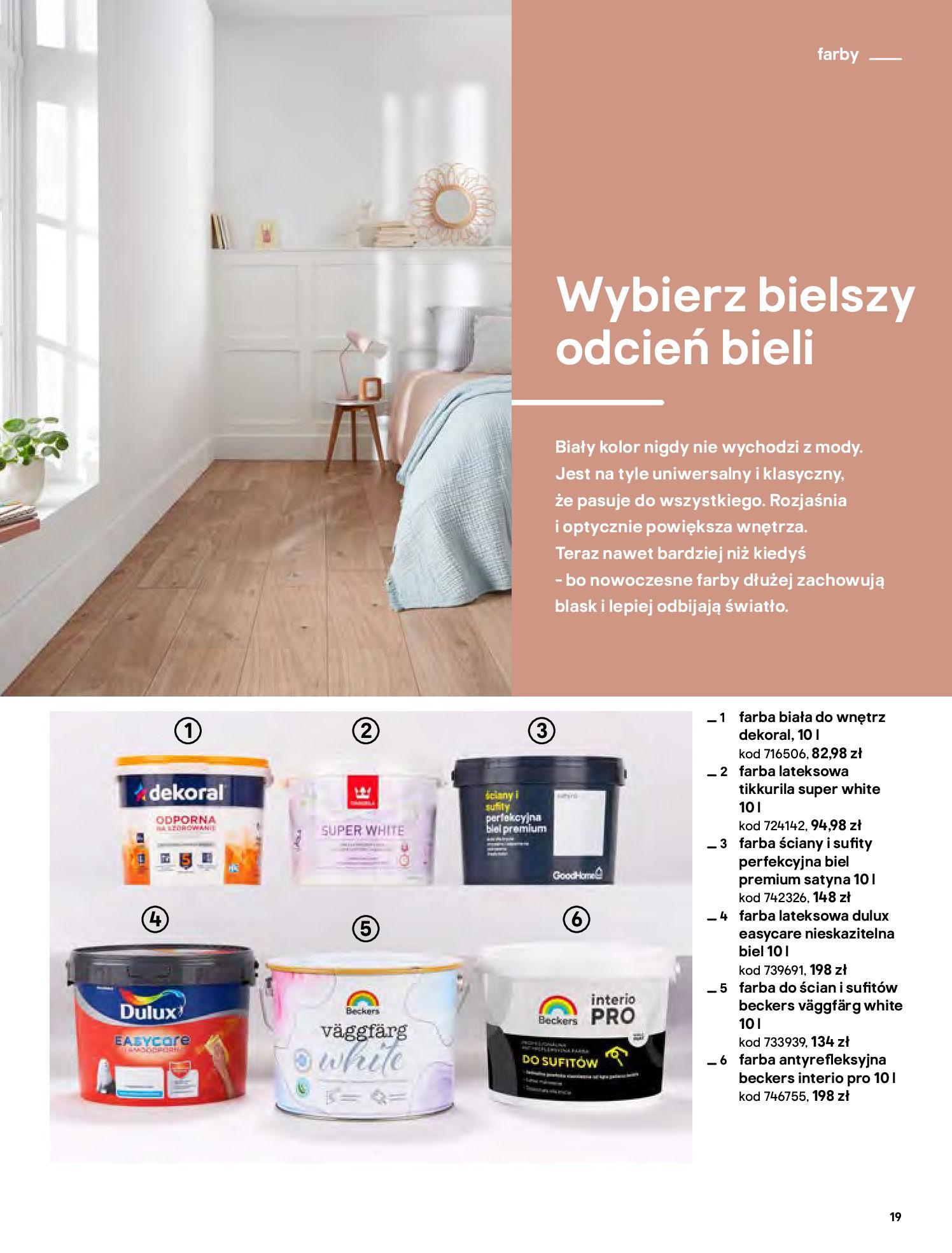Gazetka Castorama - Katalog Dekoracje-22.10.2020-31.12.2020-page-19