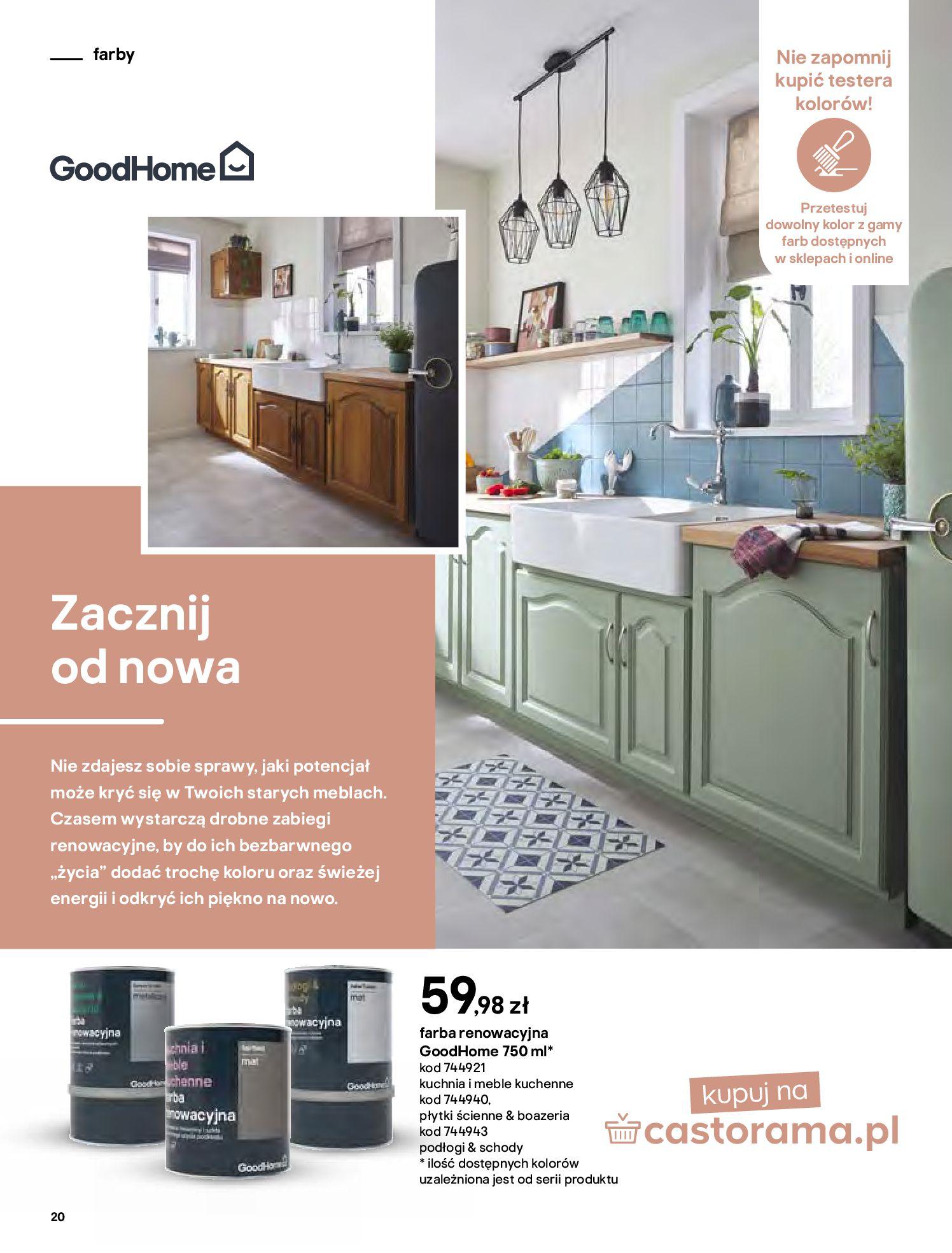 Gazetka Castorama - Katalog Dekoracje-22.10.2020-31.12.2020-page-20