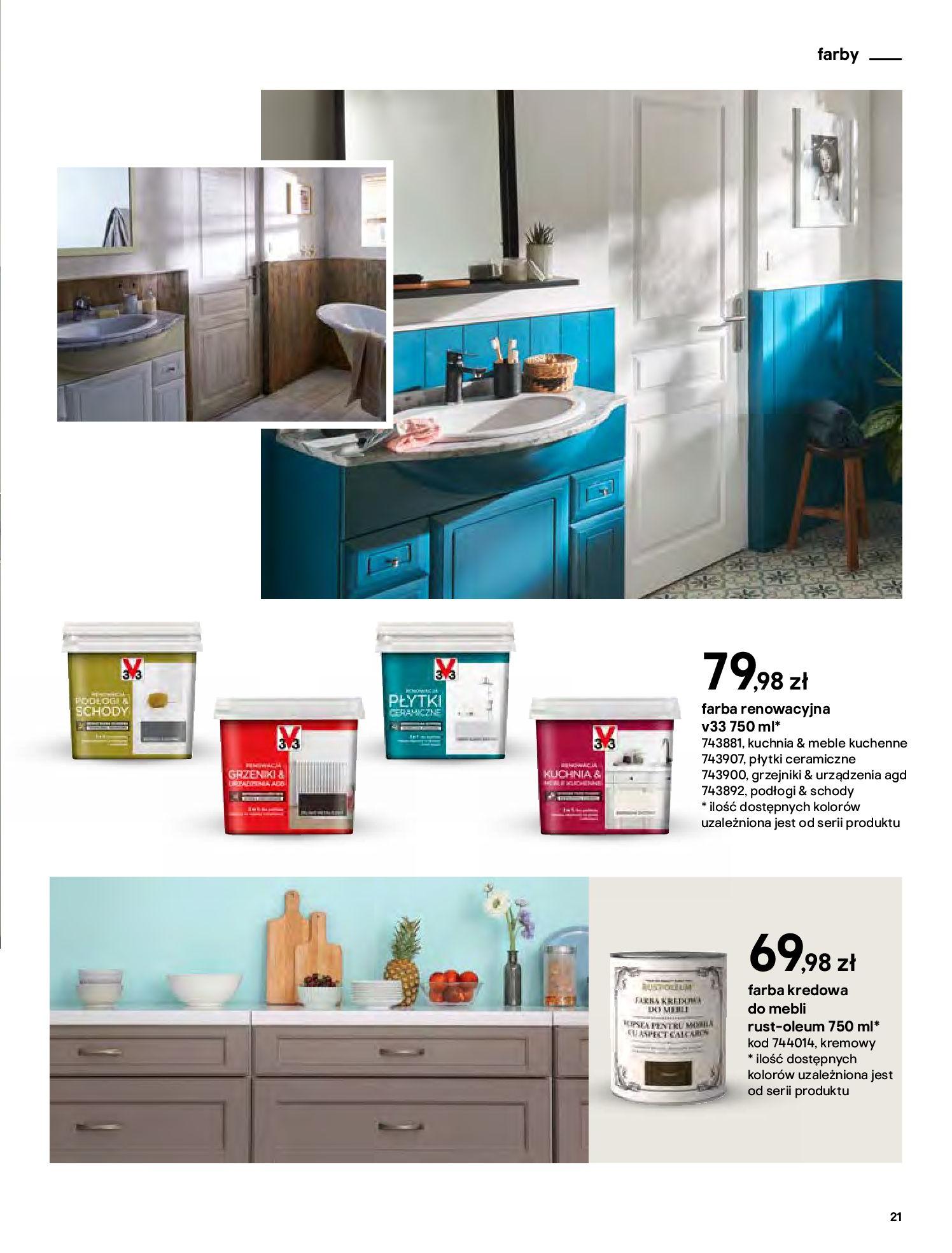 Gazetka Castorama - Katalog Dekoracje-22.10.2020-31.12.2020-page-21