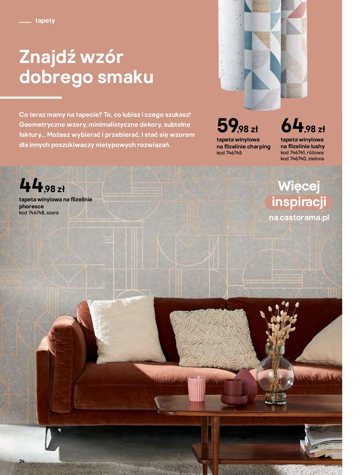 Gazetka Castorama - Katalog Dekoracje-22.10.2020-31.12.2020-page-24