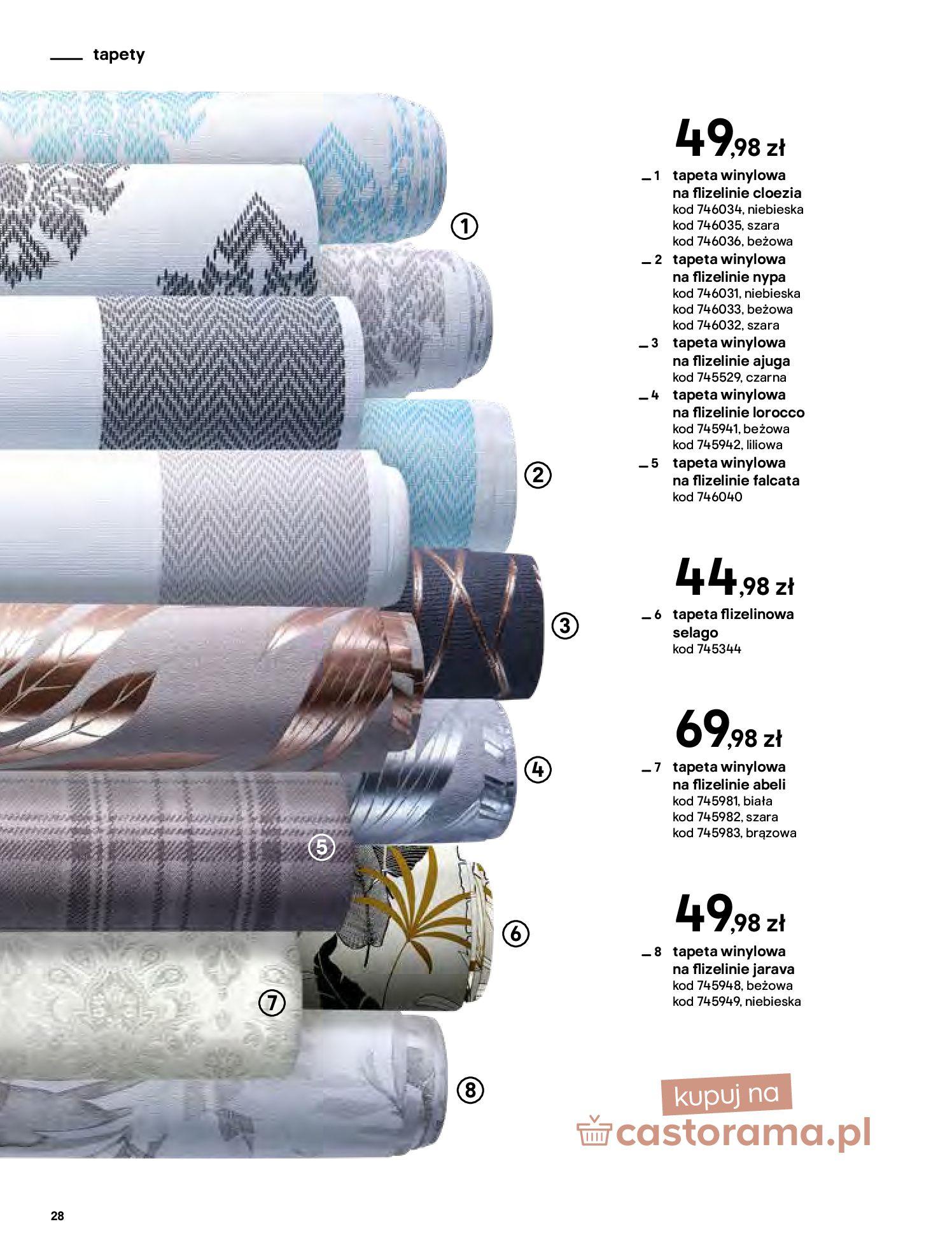 Gazetka Castorama - Katalog Dekoracje-22.10.2020-31.12.2020-page-28