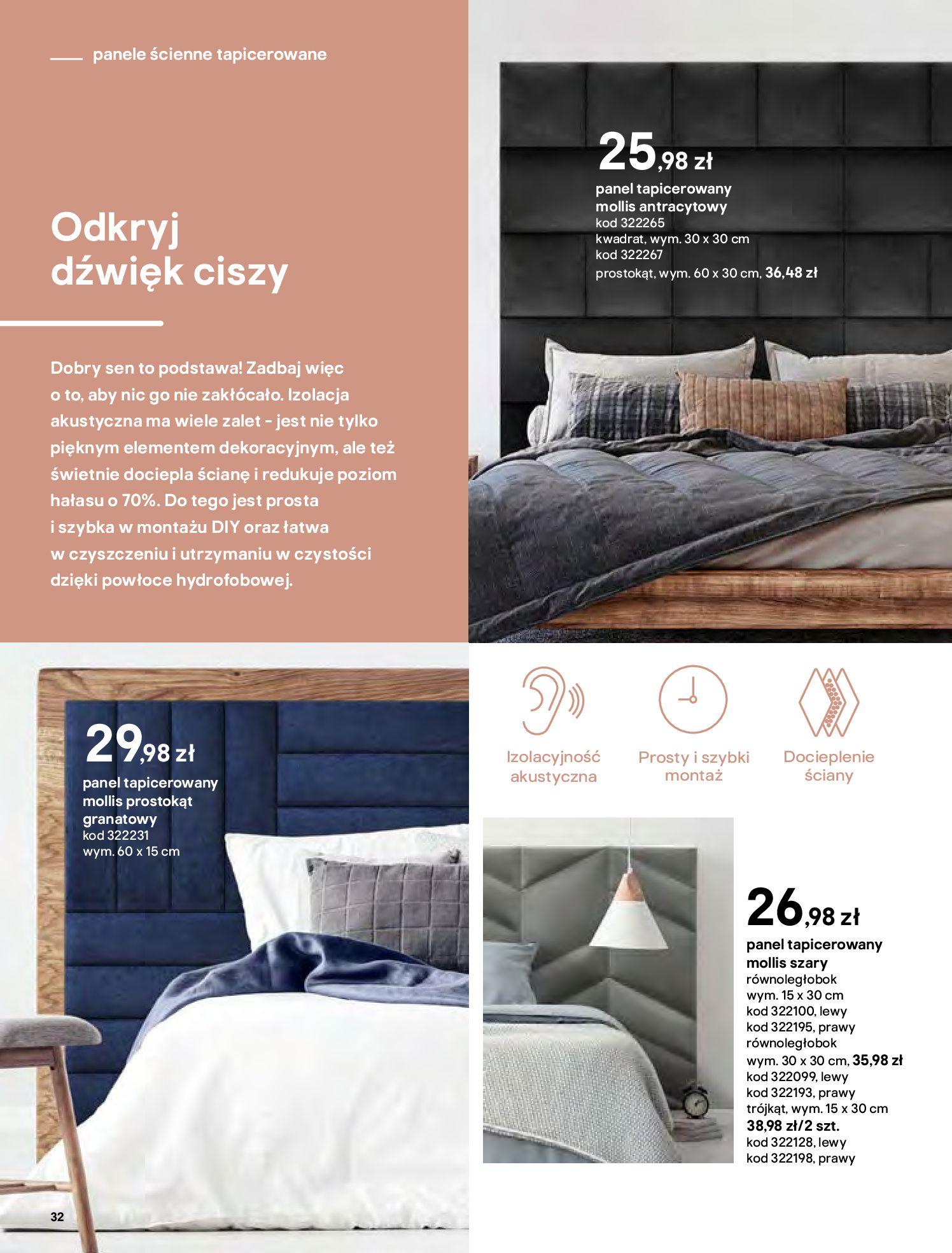 Gazetka Castorama - Katalog Dekoracje-22.10.2020-31.12.2020-page-32