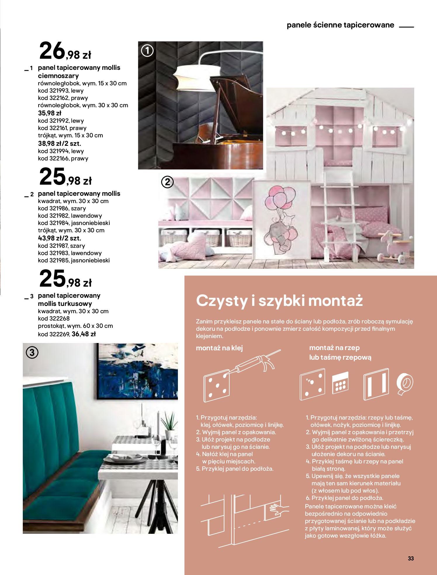Gazetka Castorama - Katalog Dekoracje-22.10.2020-31.12.2020-page-33
