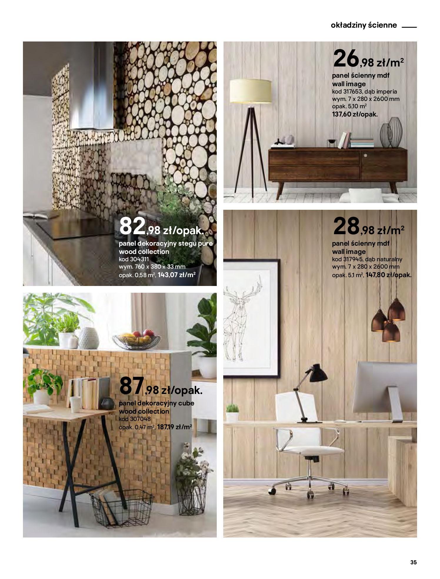 Gazetka Castorama - Katalog Dekoracje-22.10.2020-31.12.2020-page-35