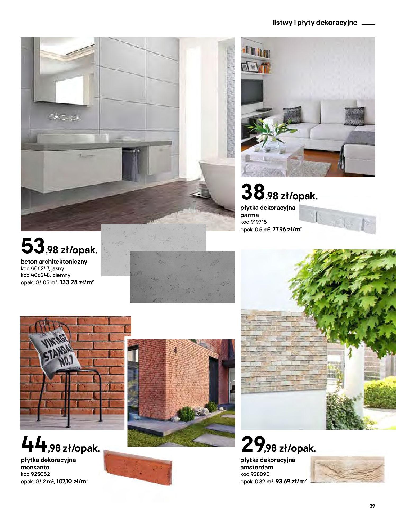 Gazetka Castorama - Katalog Dekoracje-22.10.2020-31.12.2020-page-39