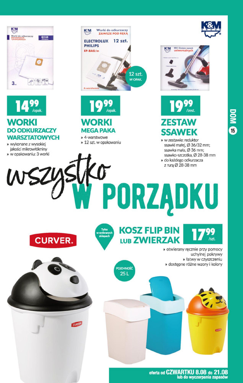 Gazetka Biedronka - Okazje tygodnia-07.08.2019-21.08.2019-page-15