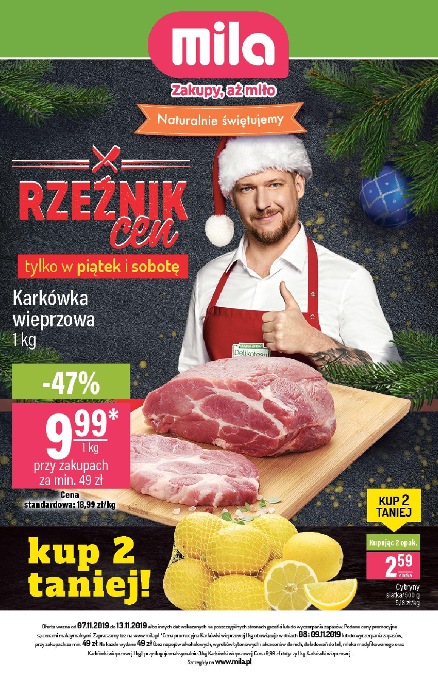 Gazetka Mila - Gazetka 45-06.11.2019-13.11.2019-page-1