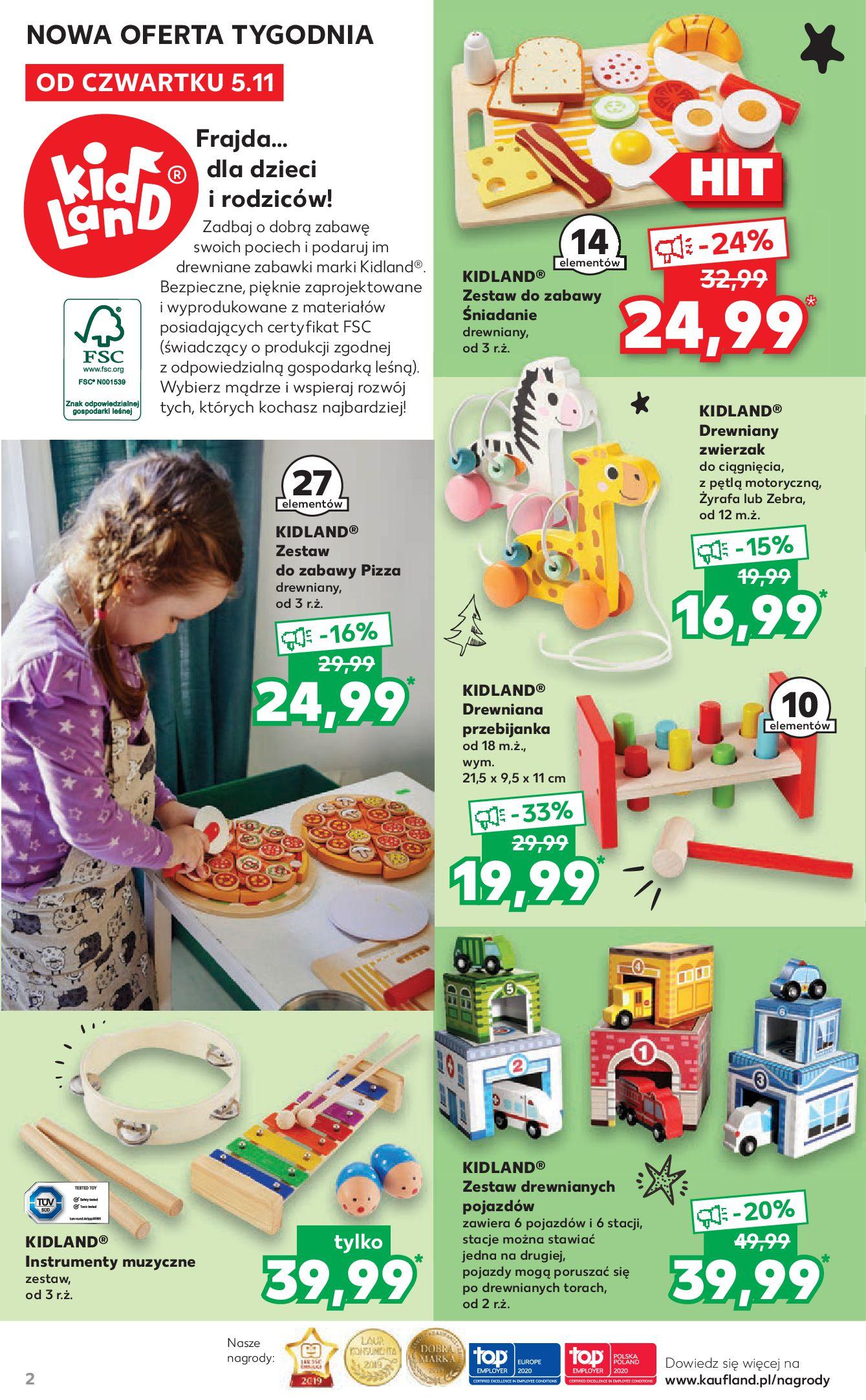 Gazetka Kaufland: Mikołajkowy katalog prezentowy 2020-11-05 page-2