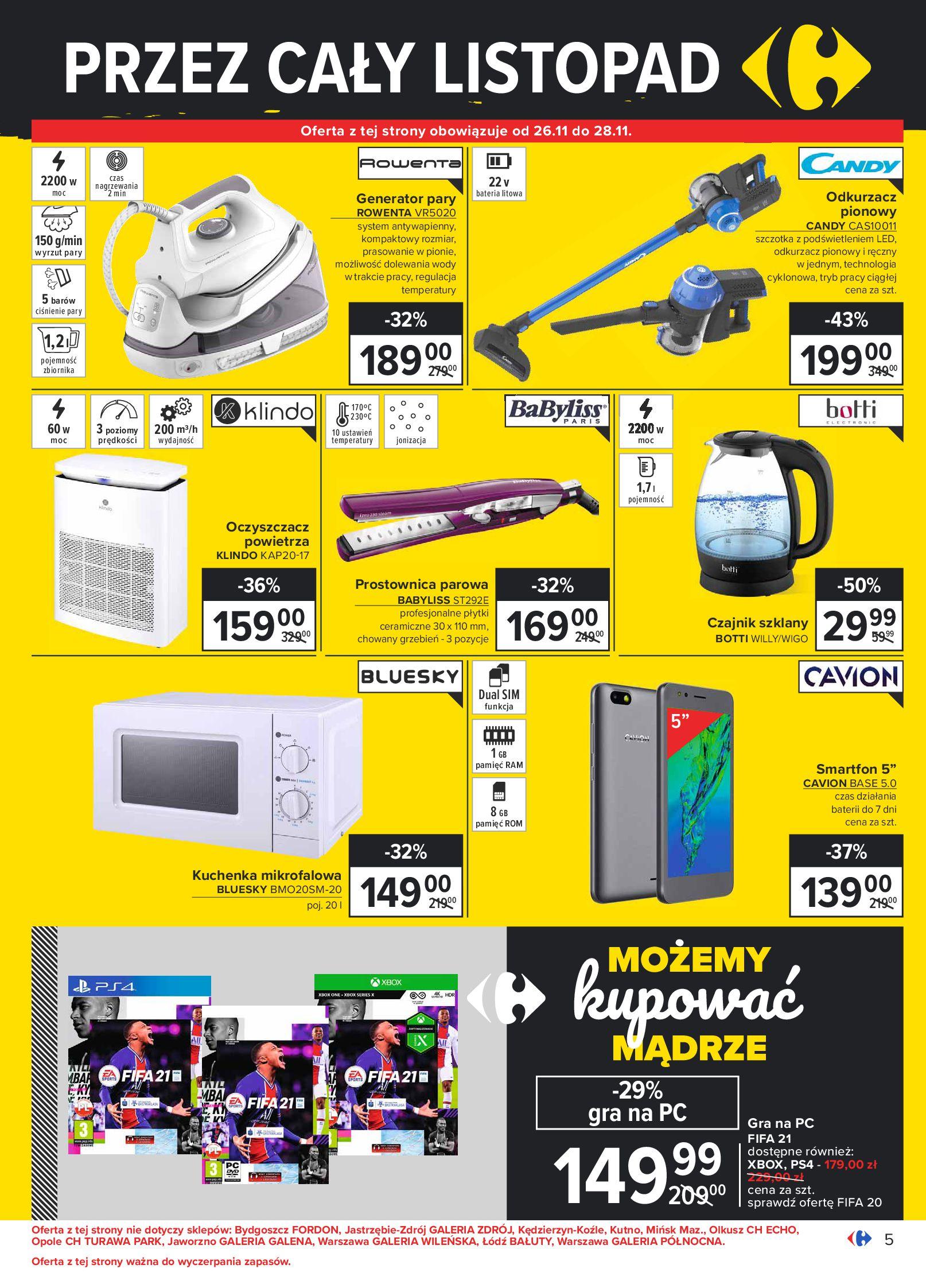 Gazetka Carrefour: Oferta handlowa 2020-11-24 page-5