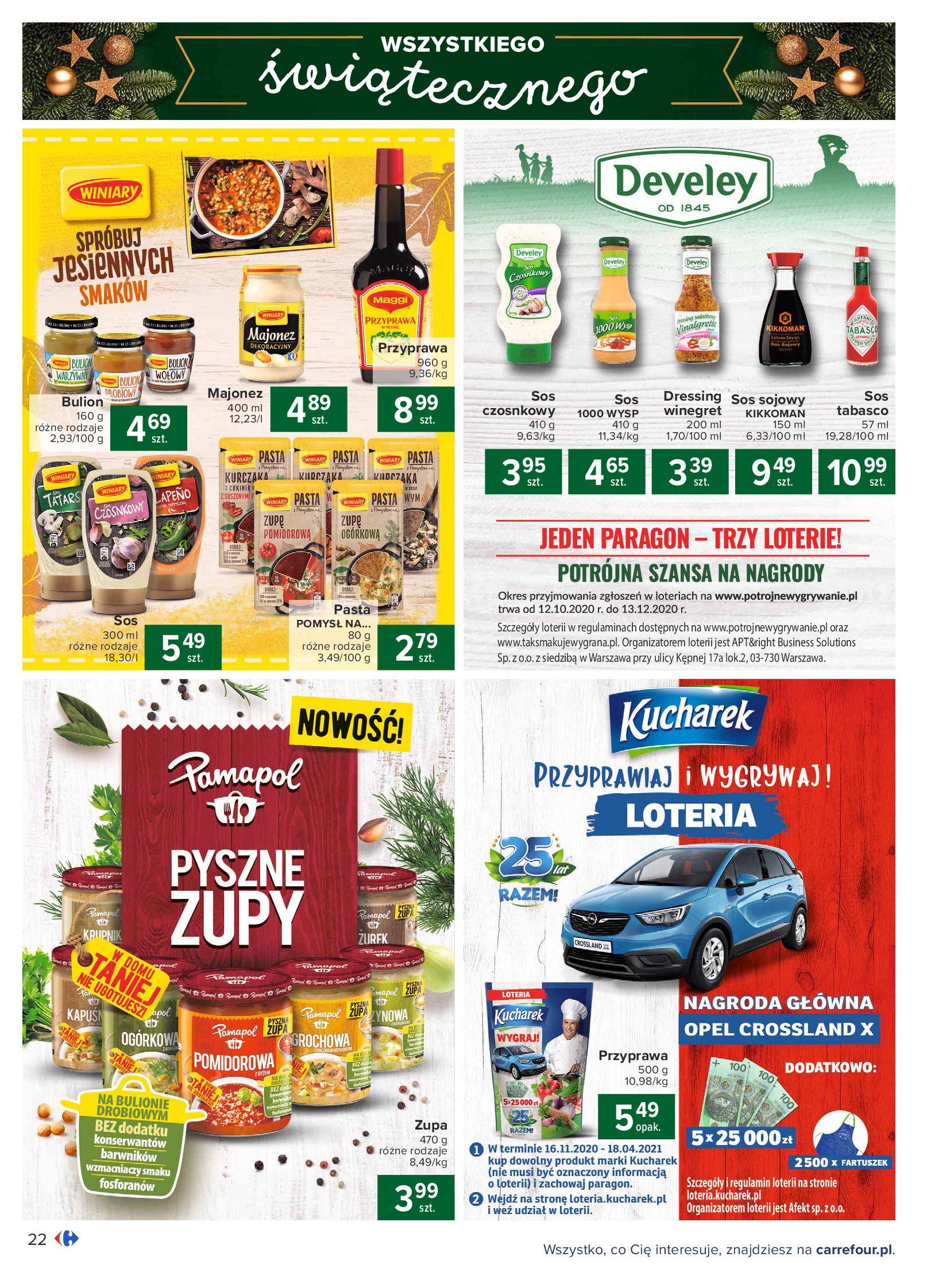 Gazetka Carrefour: Oferta handlowa 2020-11-24 page-22