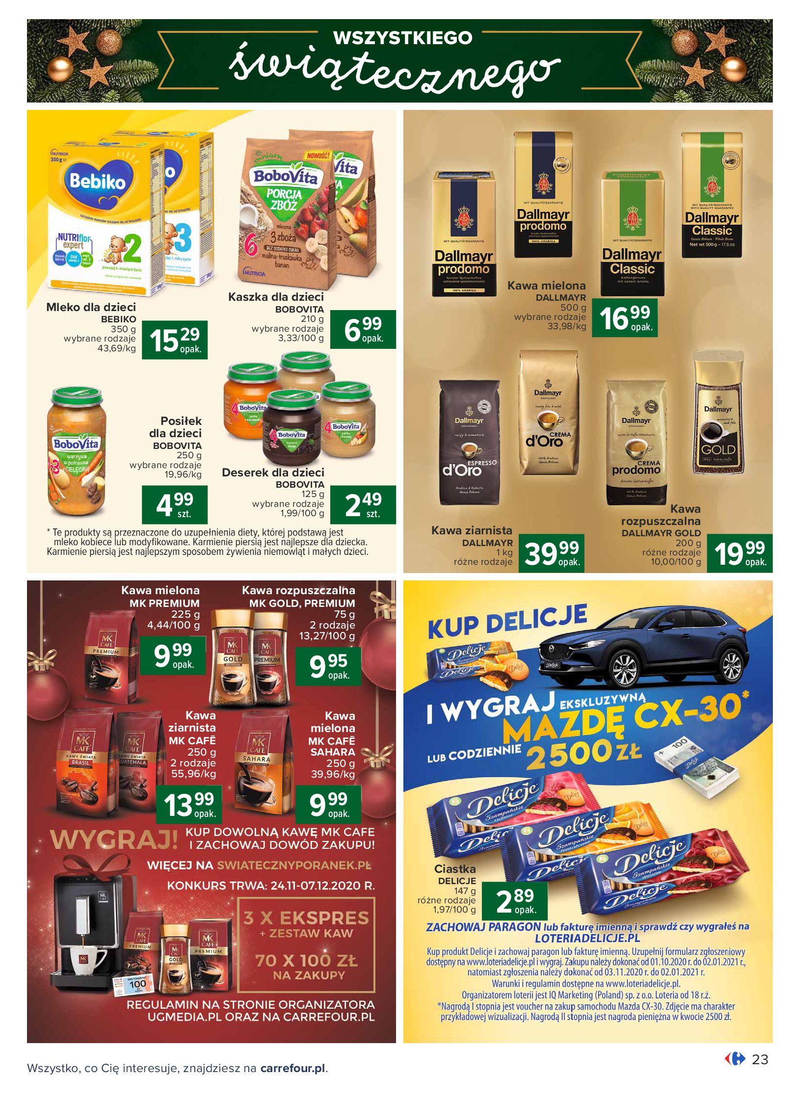 Gazetka Carrefour: Oferta handlowa 2020-11-24 page-23