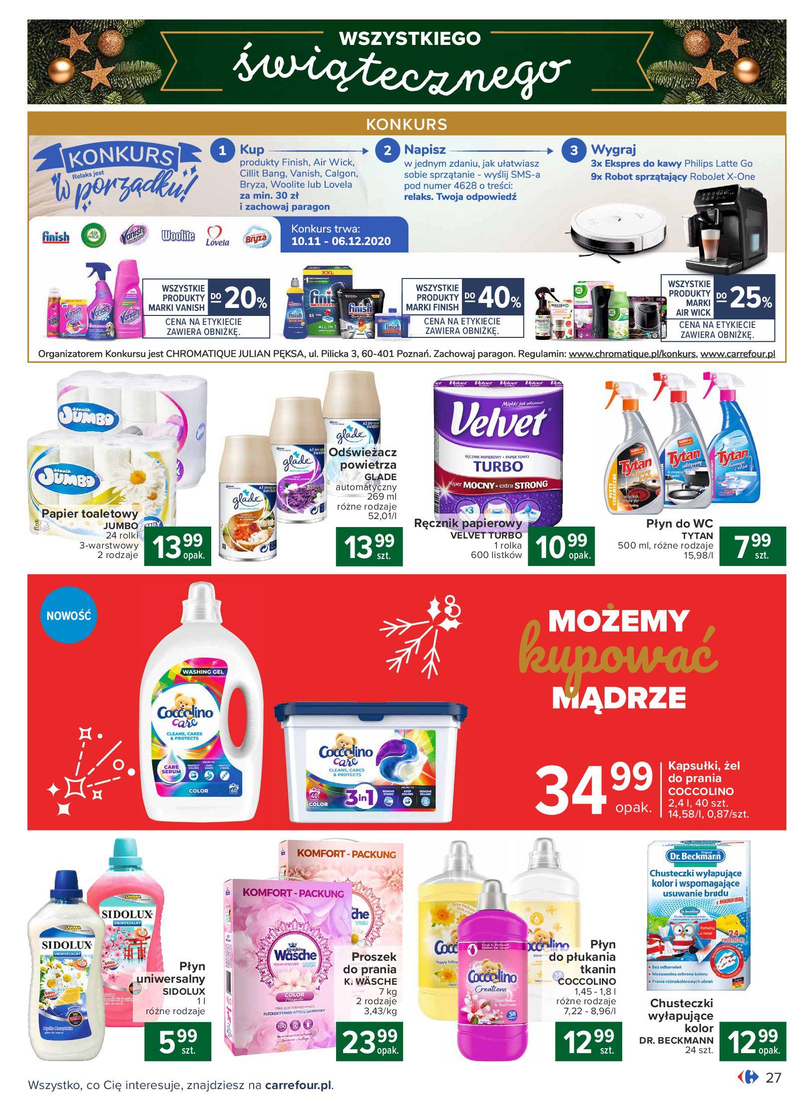 Gazetka Carrefour: Oferta handlowa 2020-11-24 page-27