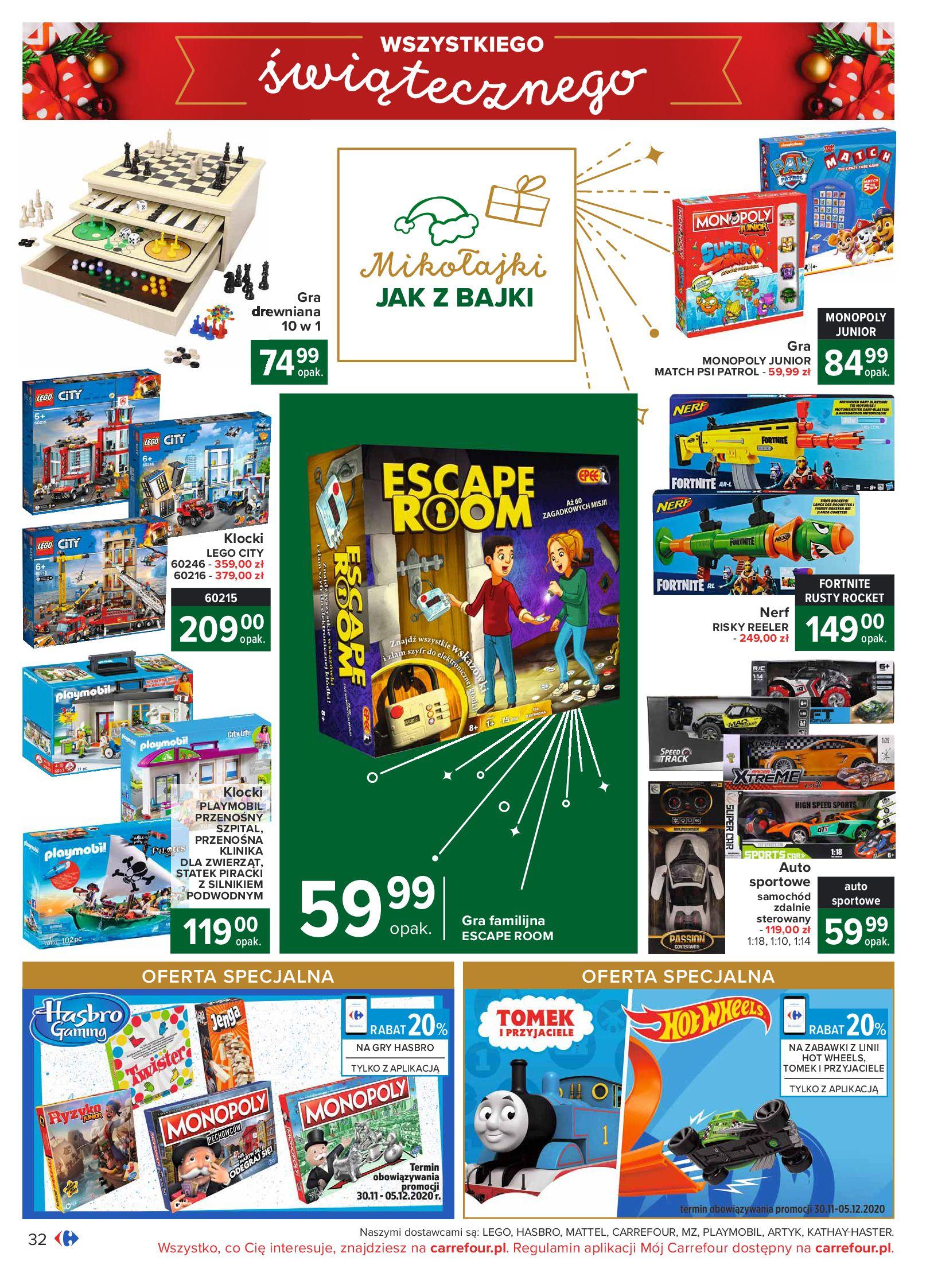 Gazetka Carrefour: Oferta handlowa 2020-11-24 page-32