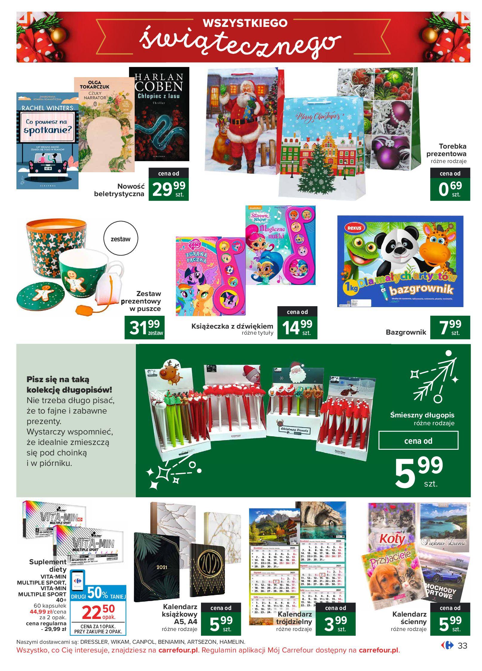 Gazetka Carrefour: Oferta handlowa 2020-11-24 page-33