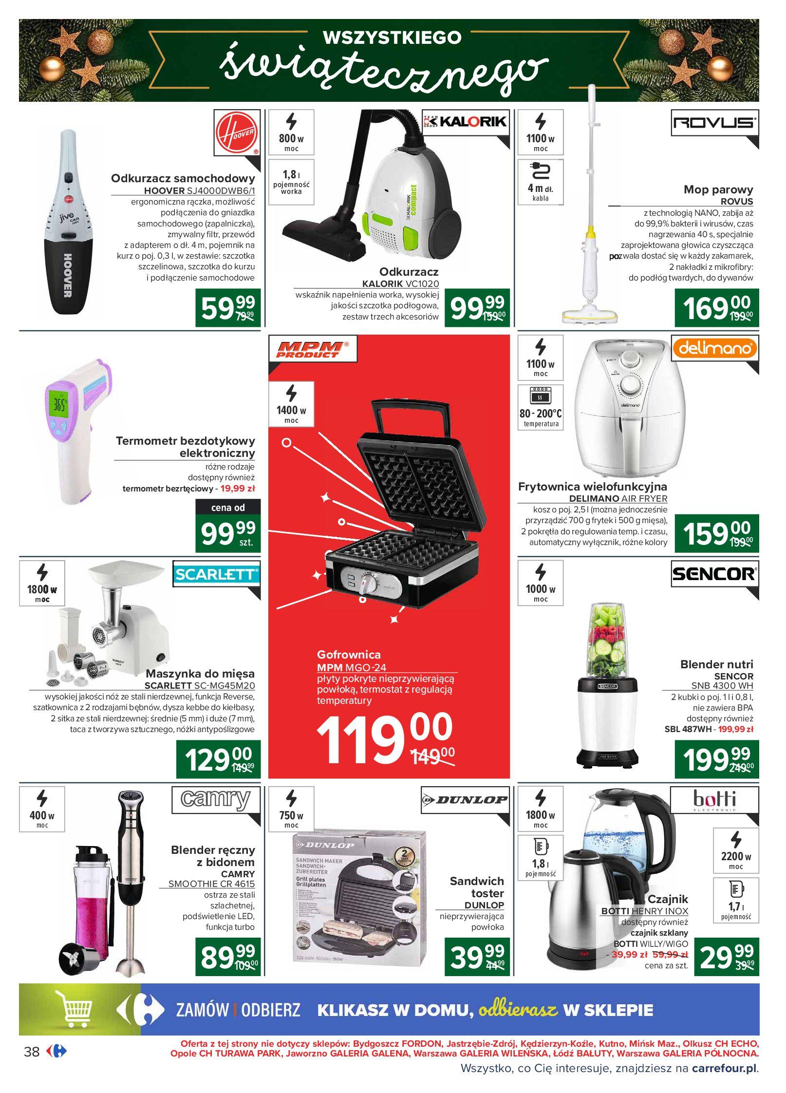 Gazetka Carrefour: Oferta handlowa 2020-11-24 page-38