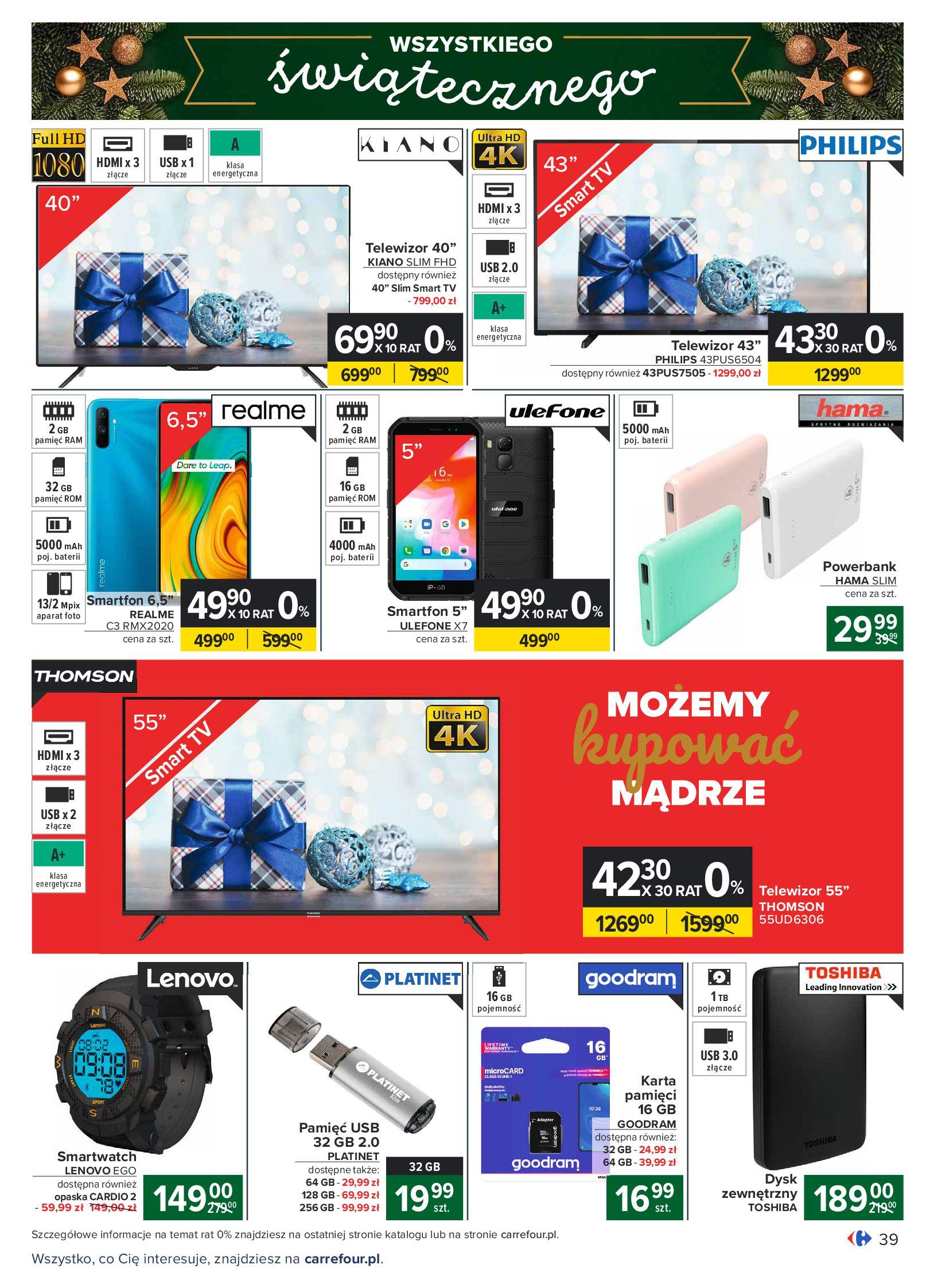 Gazetka Carrefour: Oferta handlowa 2020-11-24 page-39