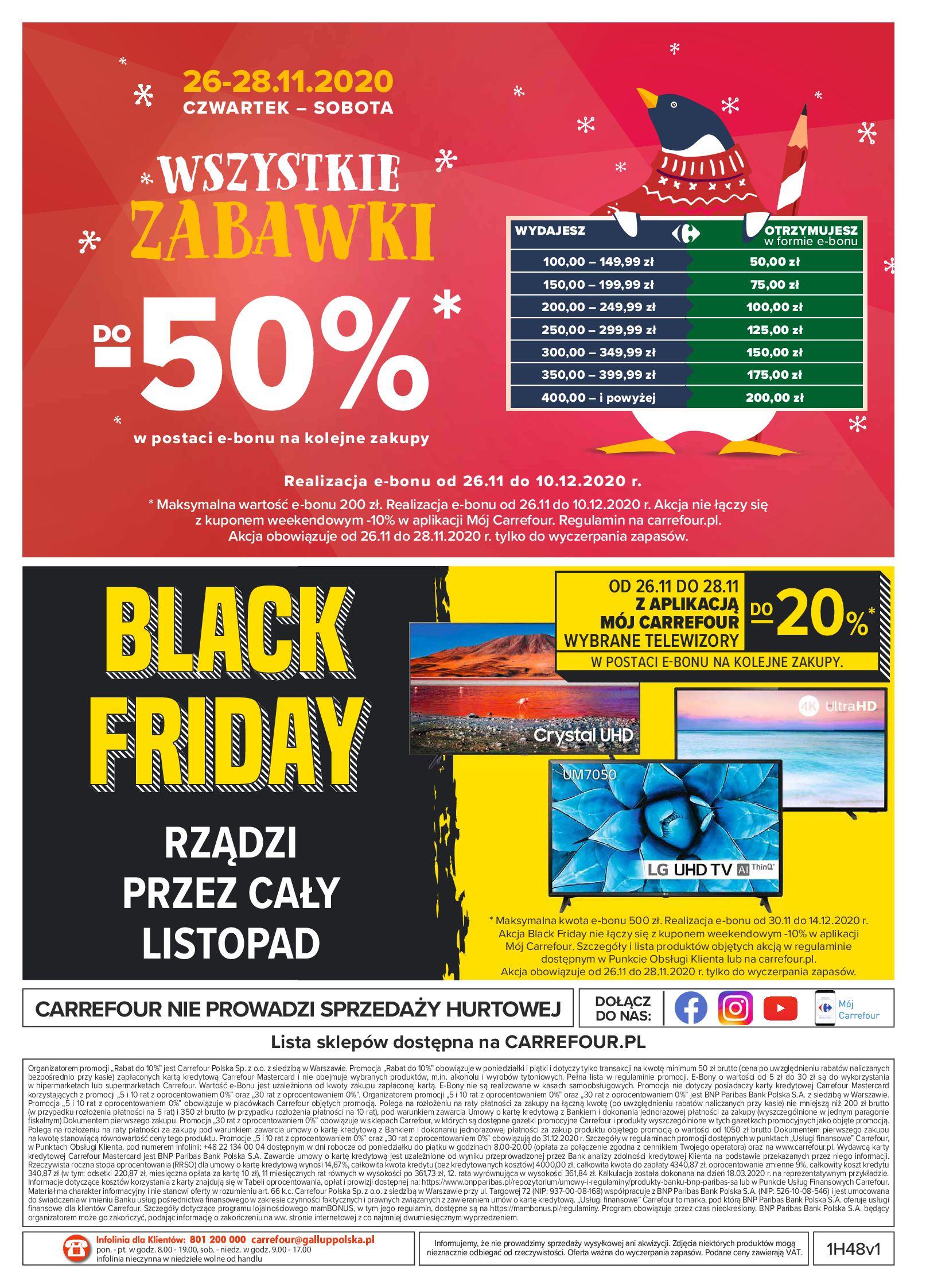 Gazetka Carrefour: Oferta handlowa 2020-11-24 page-40