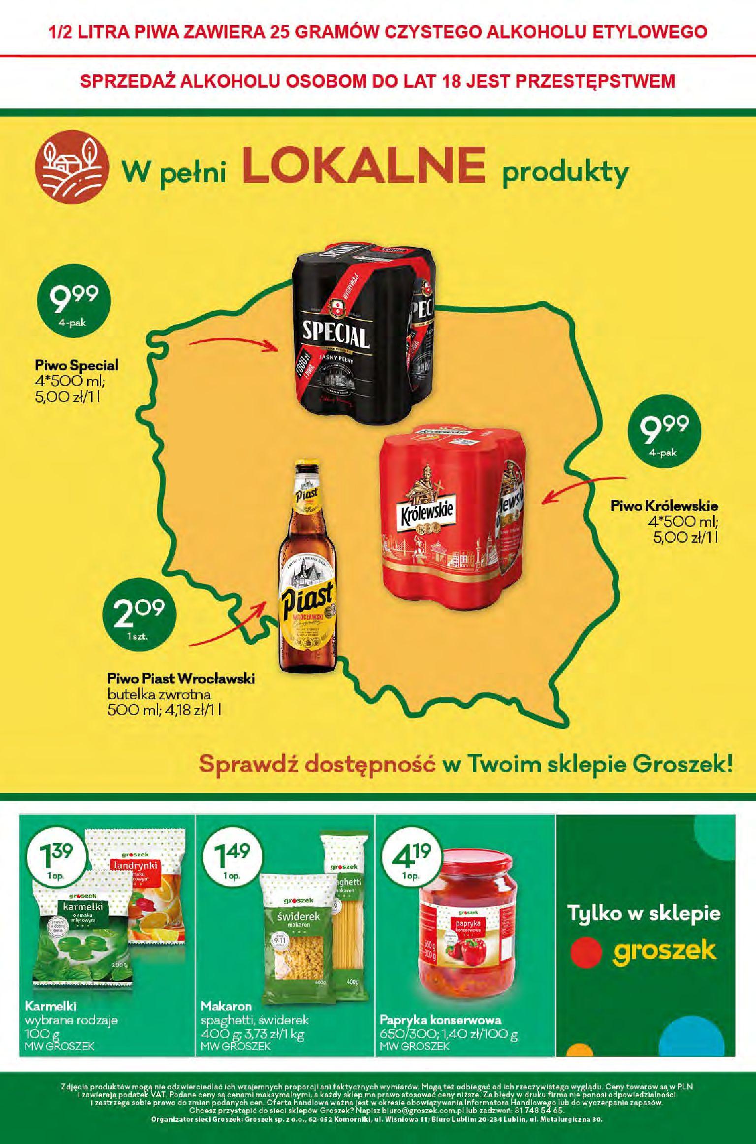 Gazetka Groszek: Gazetka promocyjna 2021-04-08 page-12