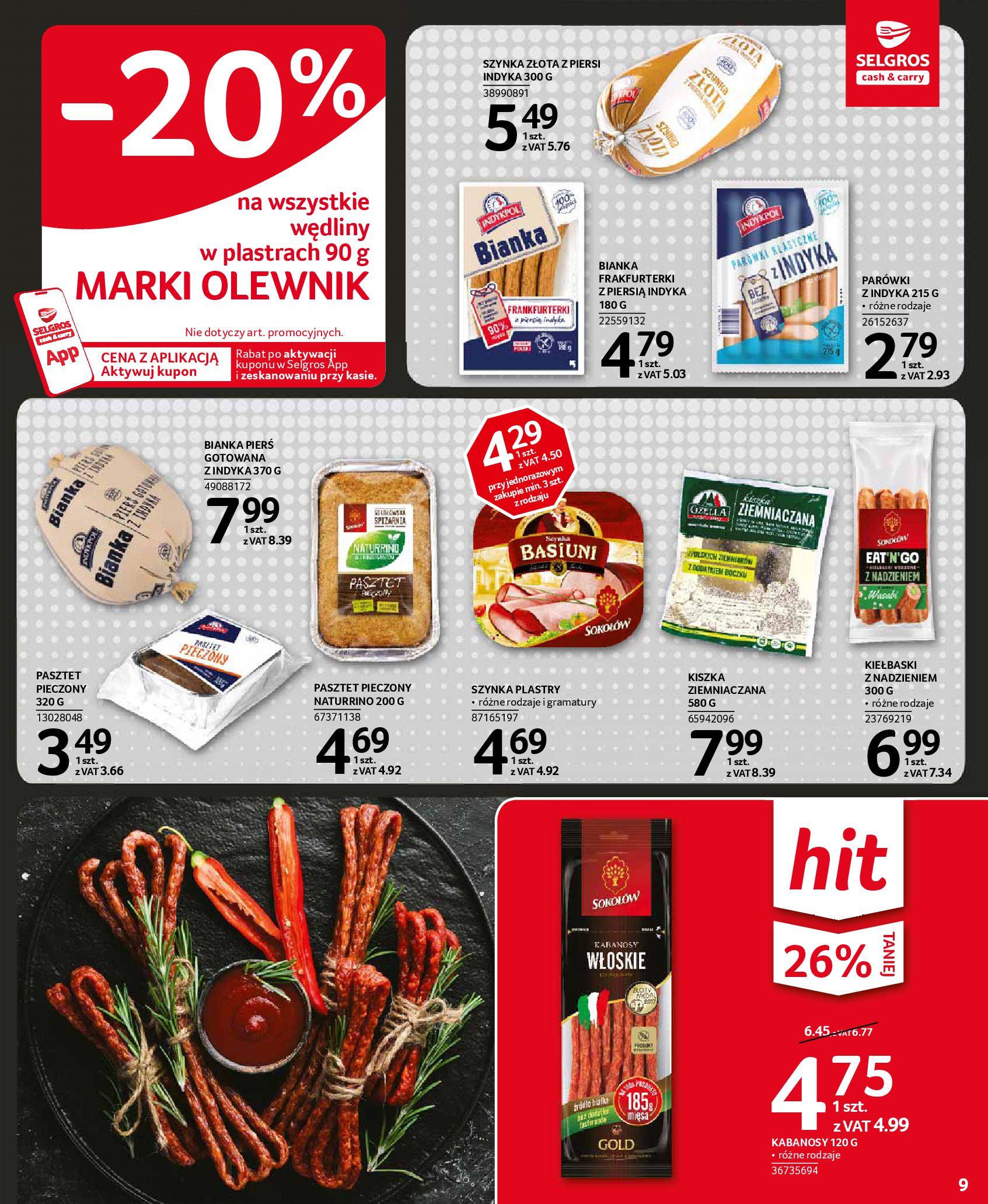 Gazetka Selgros - Oferta spożywcza-18.11.2020-02.12.2020-page-9