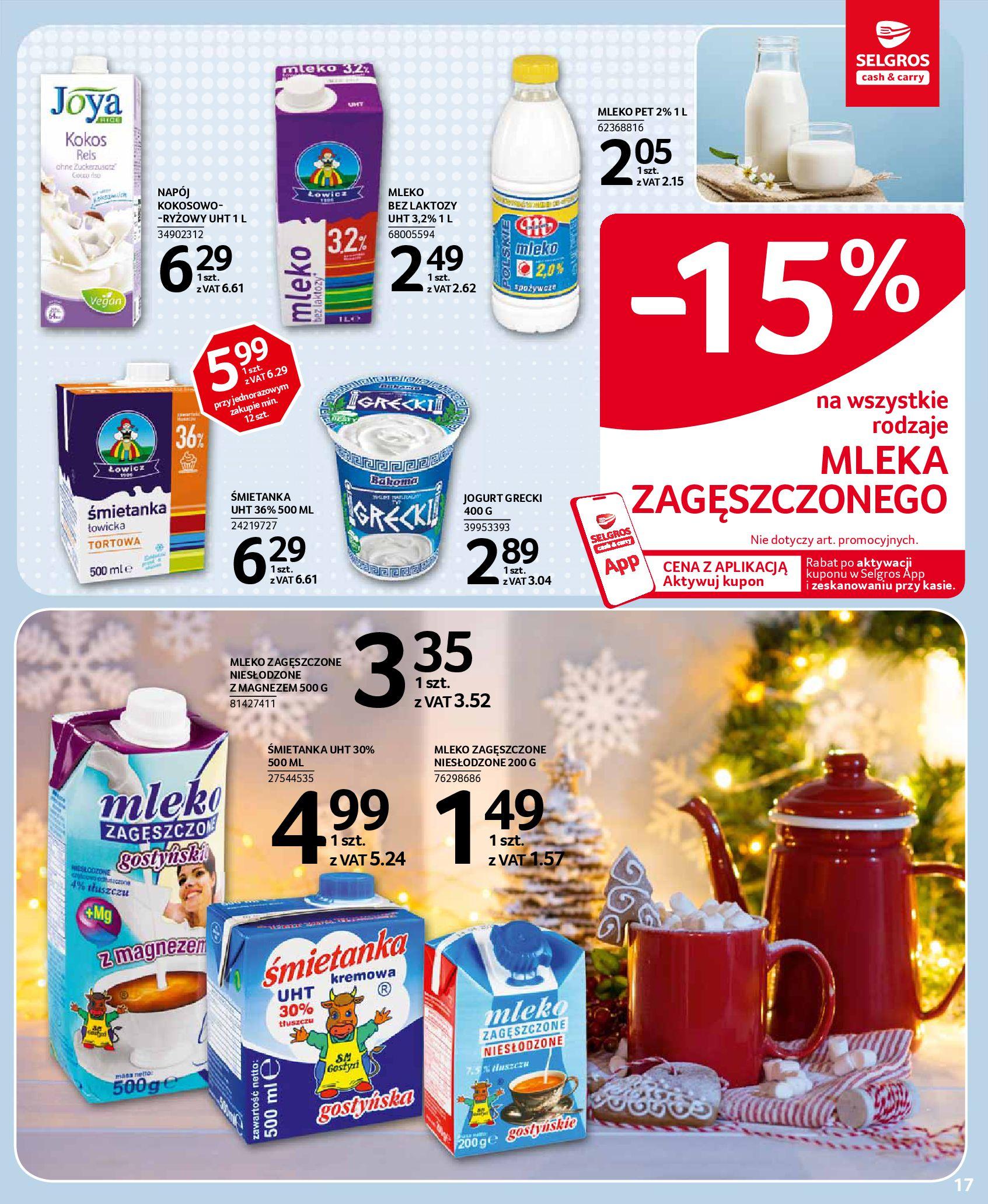 Gazetka Selgros - Oferta spożywcza-18.11.2020-02.12.2020-page-17