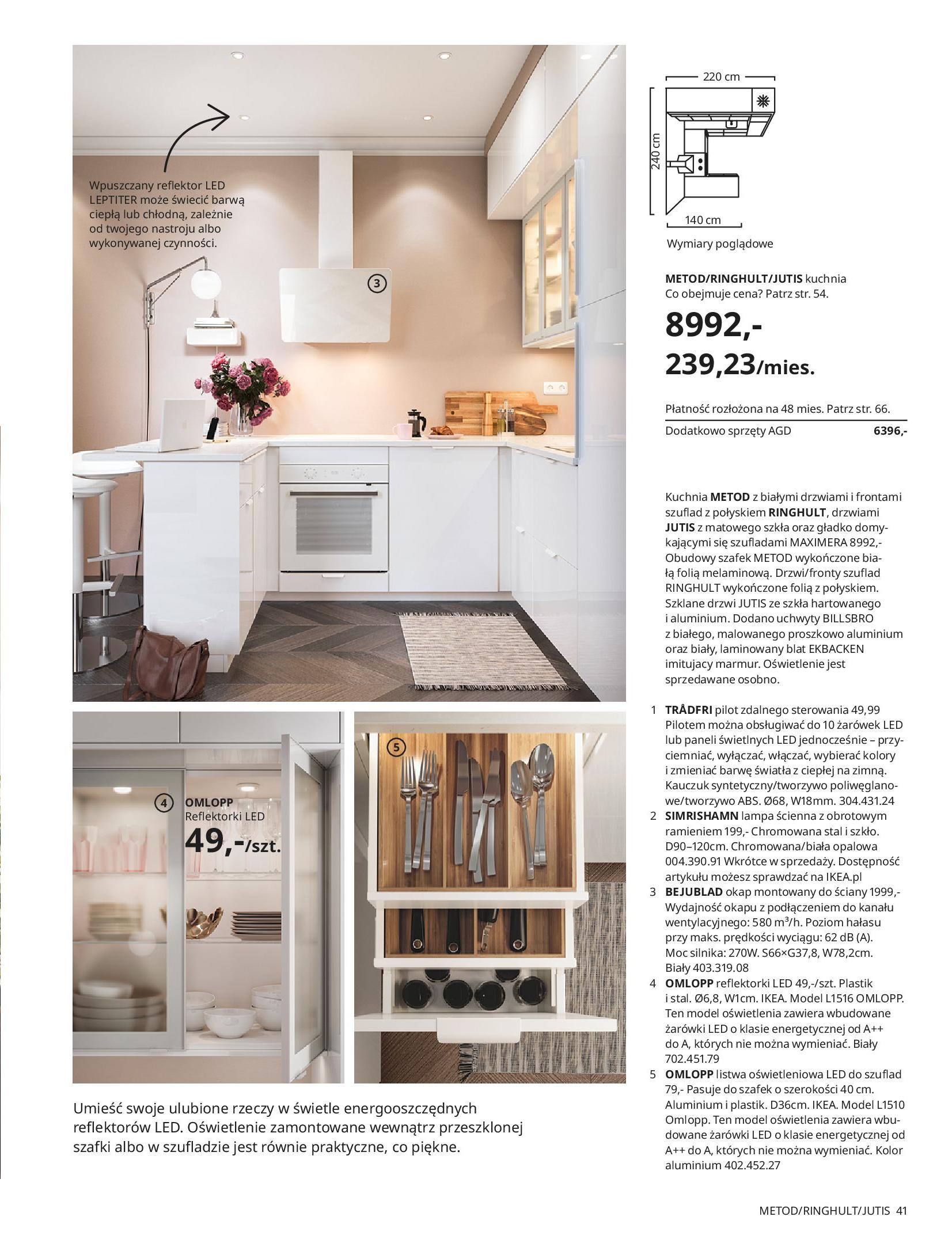 Gazetka IKEA: KUCHNIE 2021 2021-01-13 page-41
