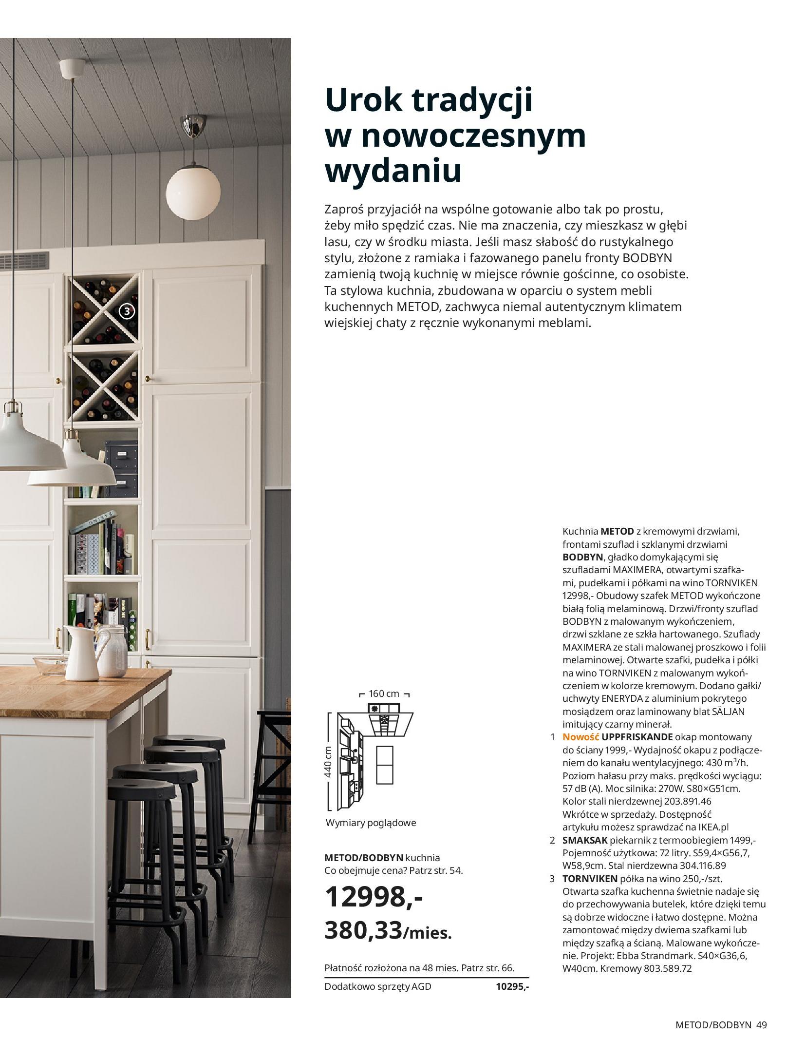 Gazetka IKEA: KUCHNIE 2021 2021-01-13 page-49