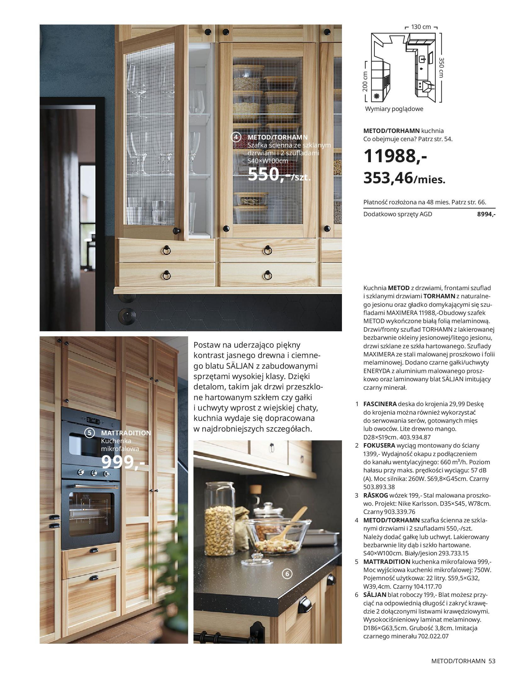 Gazetka IKEA: KUCHNIE 2021 2021-01-13 page-53