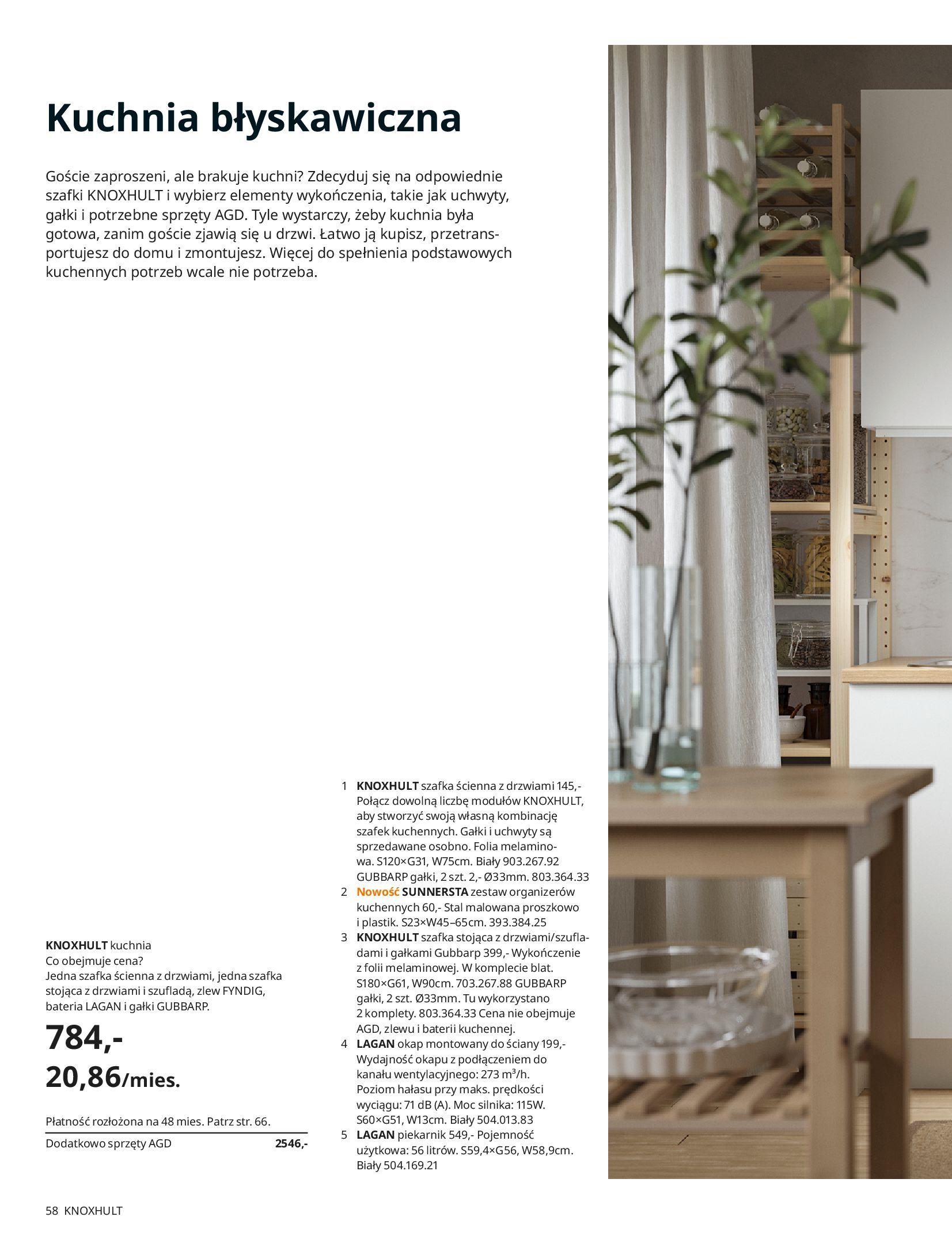 Gazetka IKEA: KUCHNIE 2021 2021-01-13 page-58