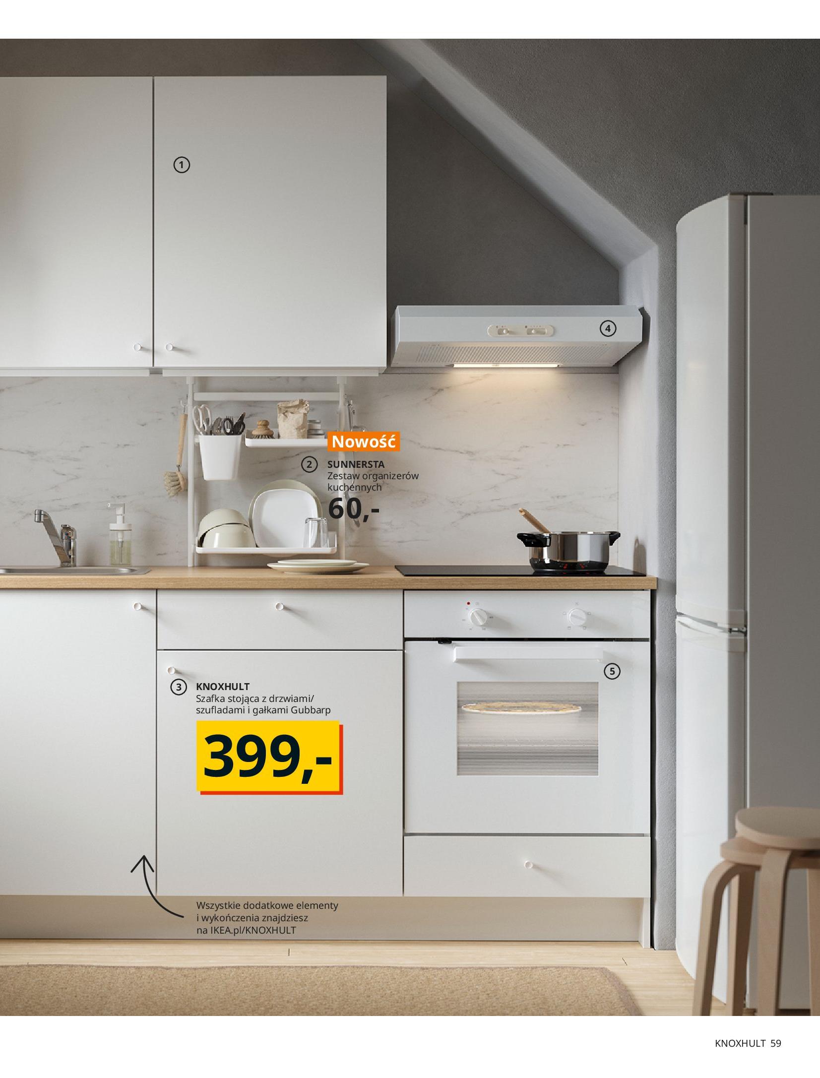 Gazetka IKEA: KUCHNIE 2021 2021-01-13 page-59