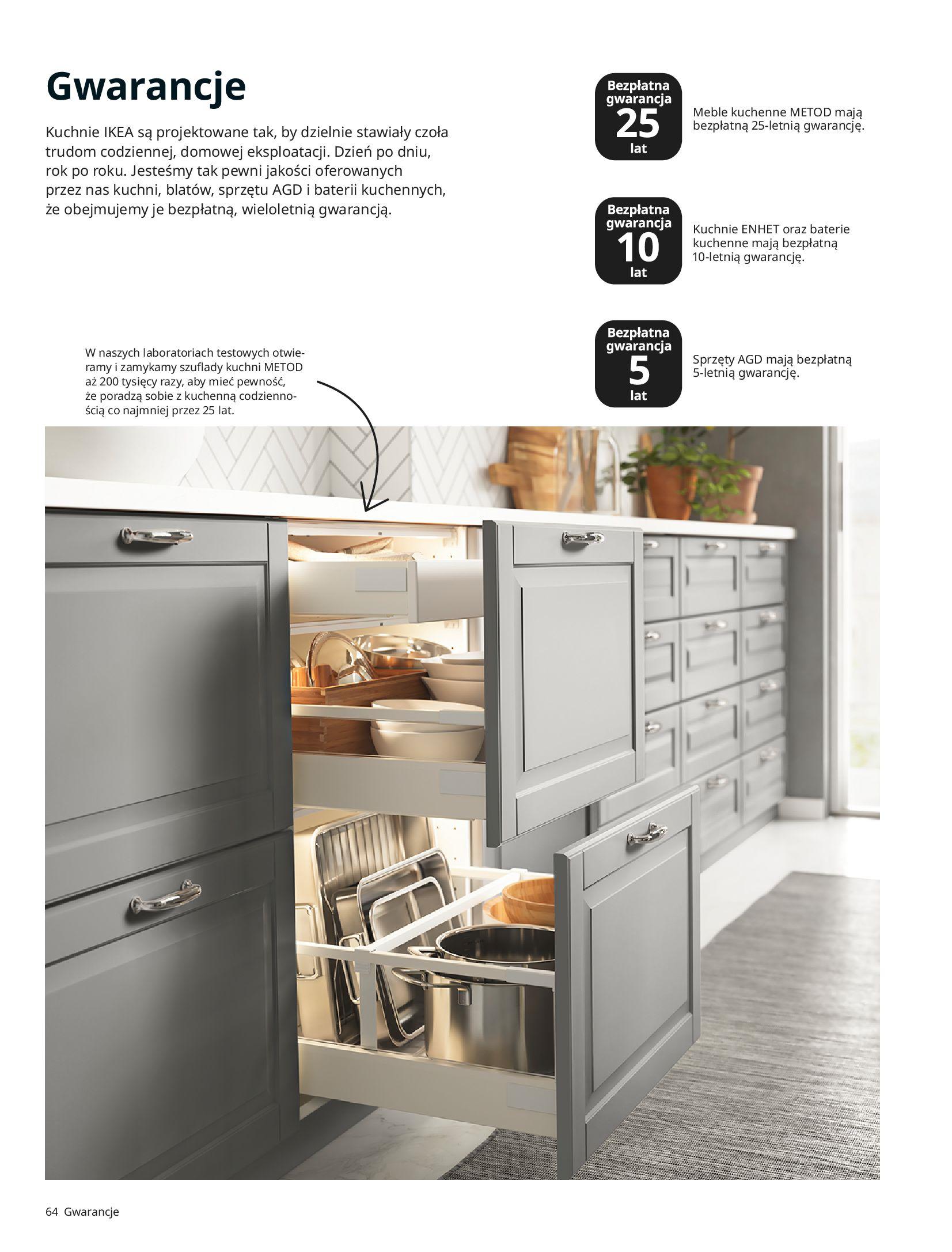 Gazetka IKEA: KUCHNIE 2021 2021-01-13 page-64
