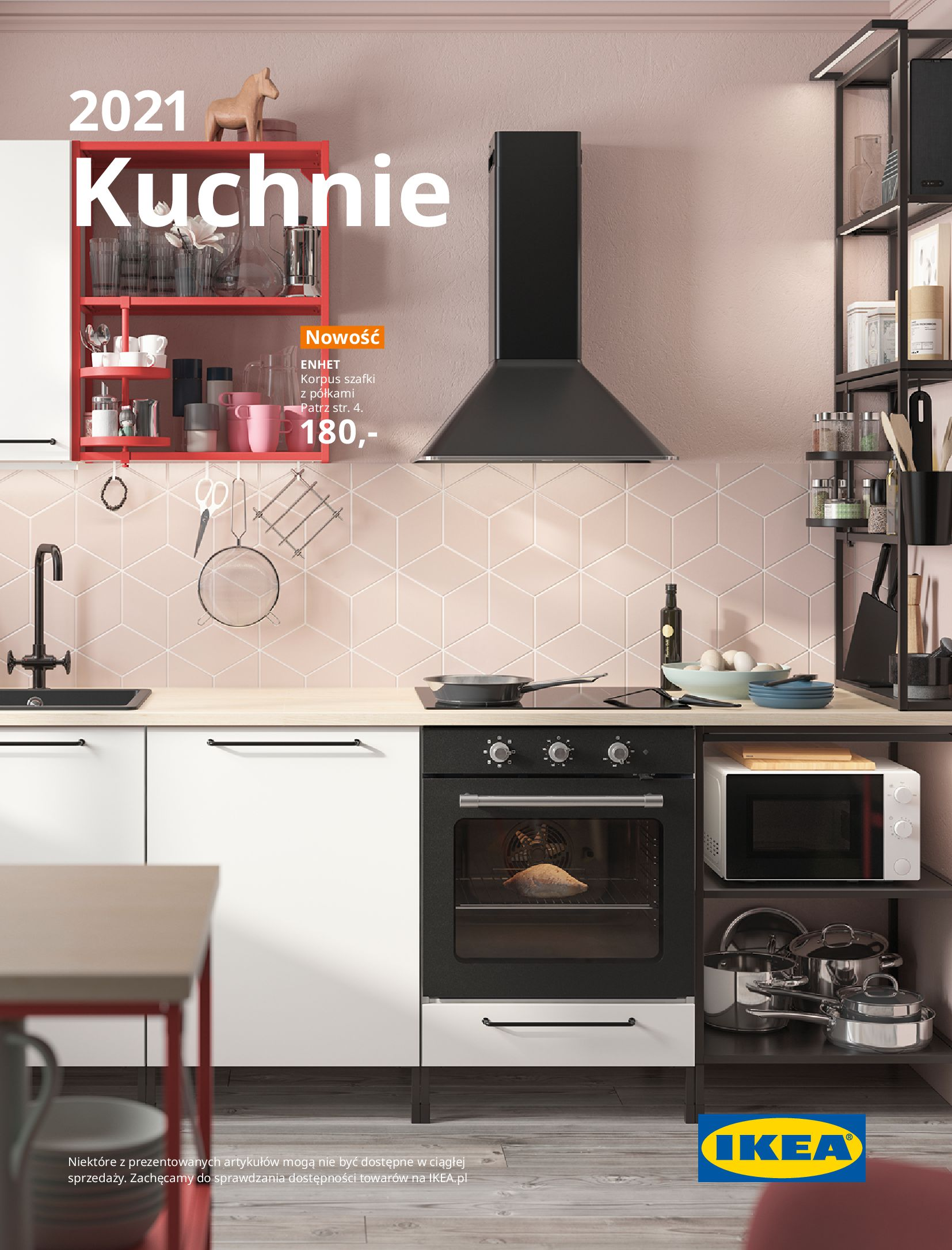 Gazetka IKEA: KUCHNIE 2021 2021-01-13 page-1