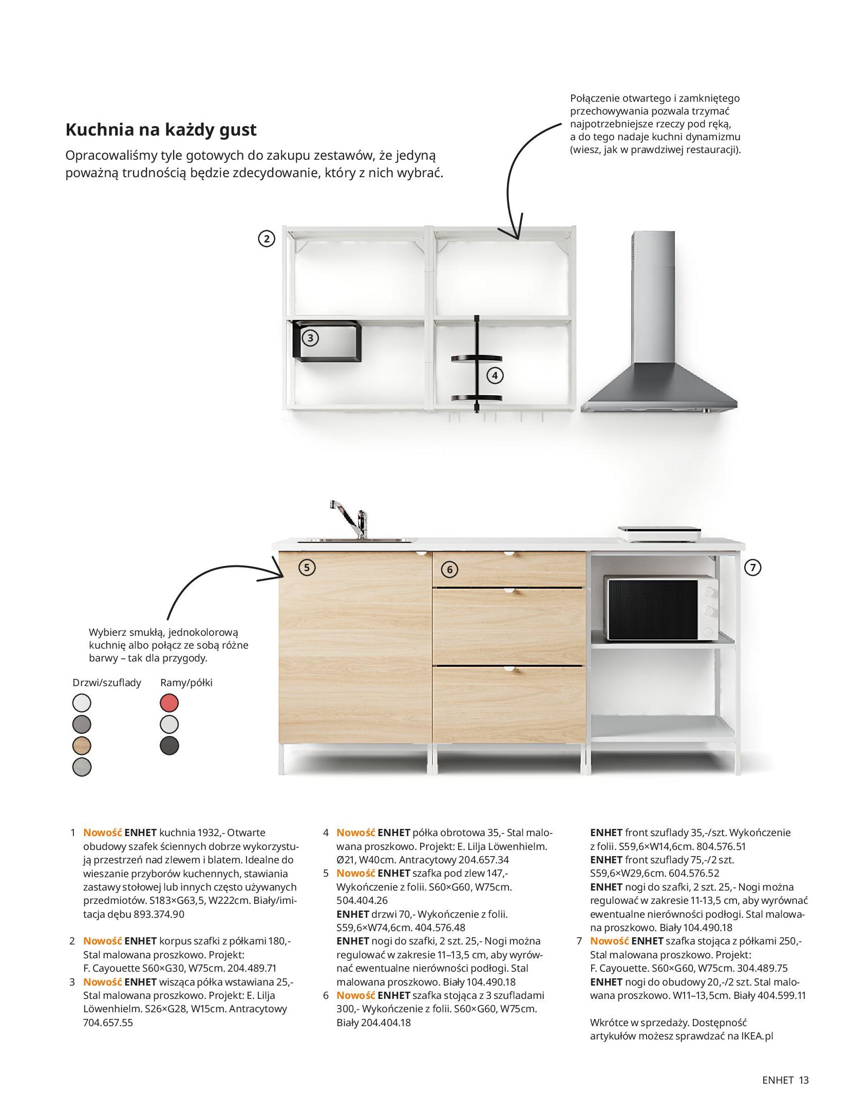 Gazetka IKEA: KUCHNIE 2021 2021-01-13 page-13