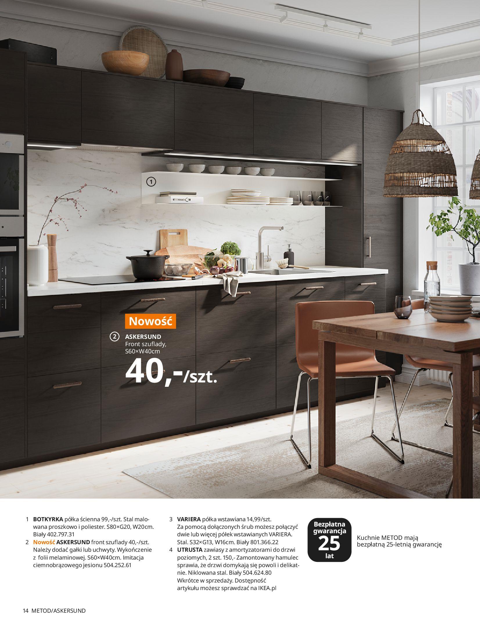 Gazetka IKEA: KUCHNIE 2021 2021-01-13 page-14