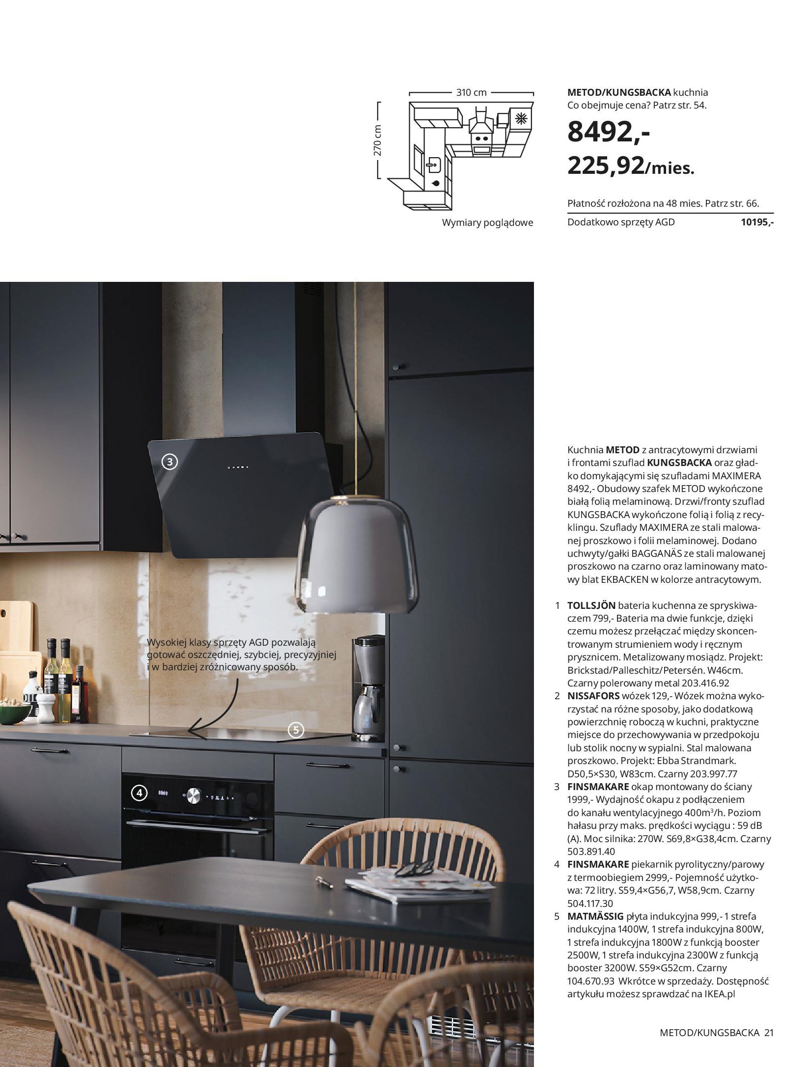 Gazetka IKEA: KUCHNIE 2021 2021-01-13 page-21