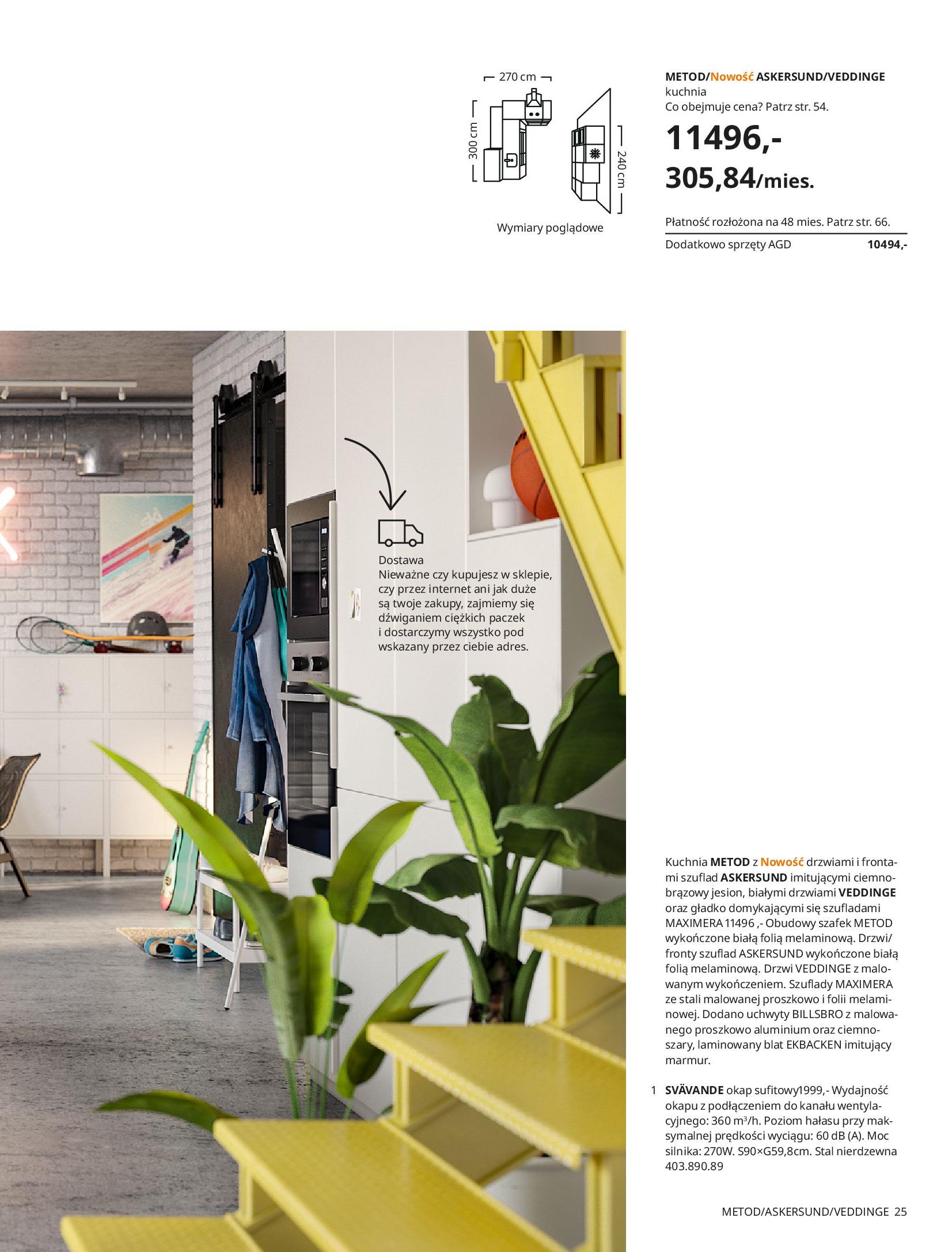 Gazetka IKEA: KUCHNIE 2021 2021-01-13 page-25